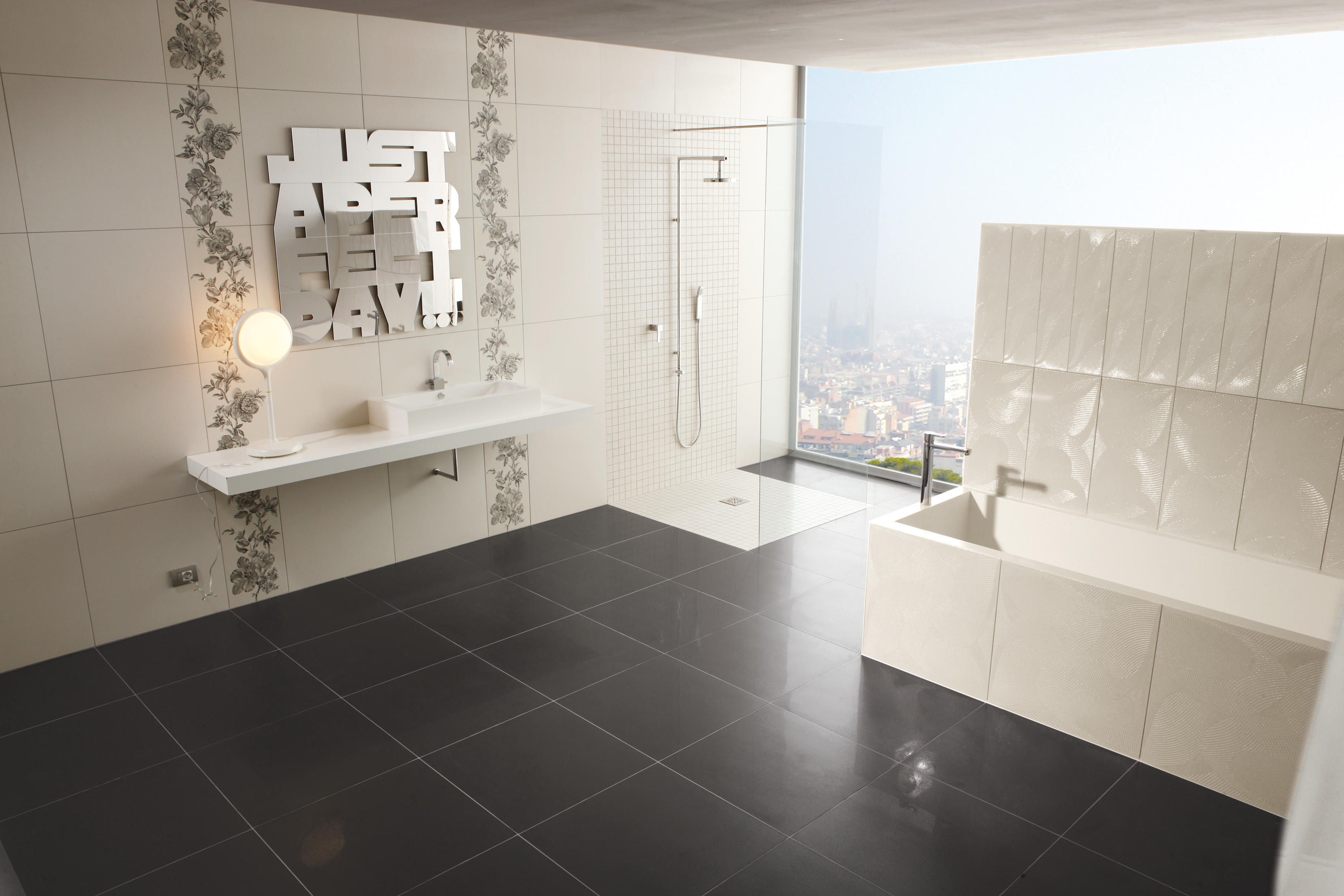 La fabbrica th avenue black chic moon piastrelle ceramica