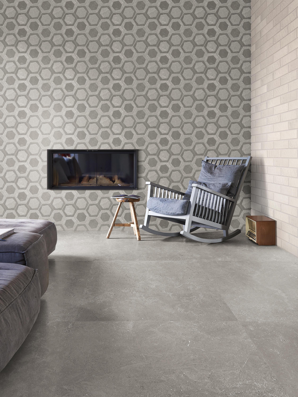 Milestone Dark Grey Ceramic Tiles From Emilgroup