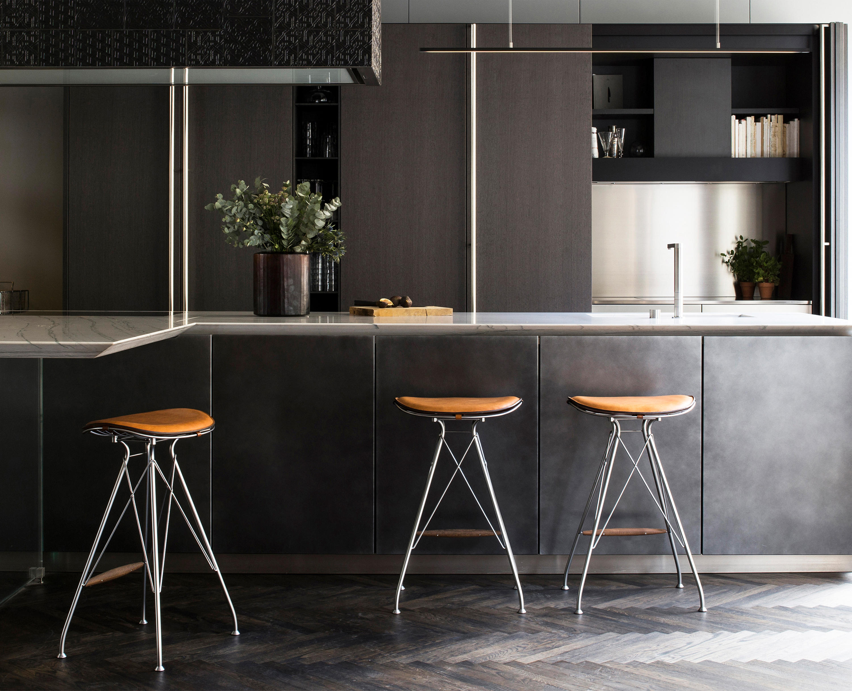 Wire bar stool high bar stools von overgaard dyrman architonic