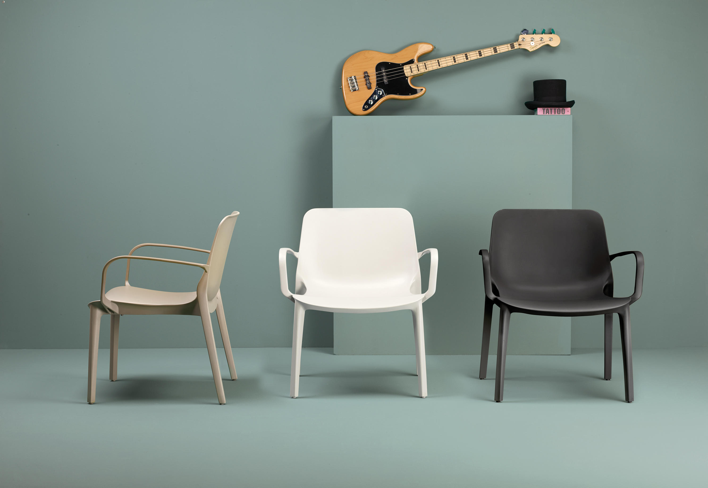GINEVRA LOUNGE - Visitors chairs / Side chairs from Scab Design ...