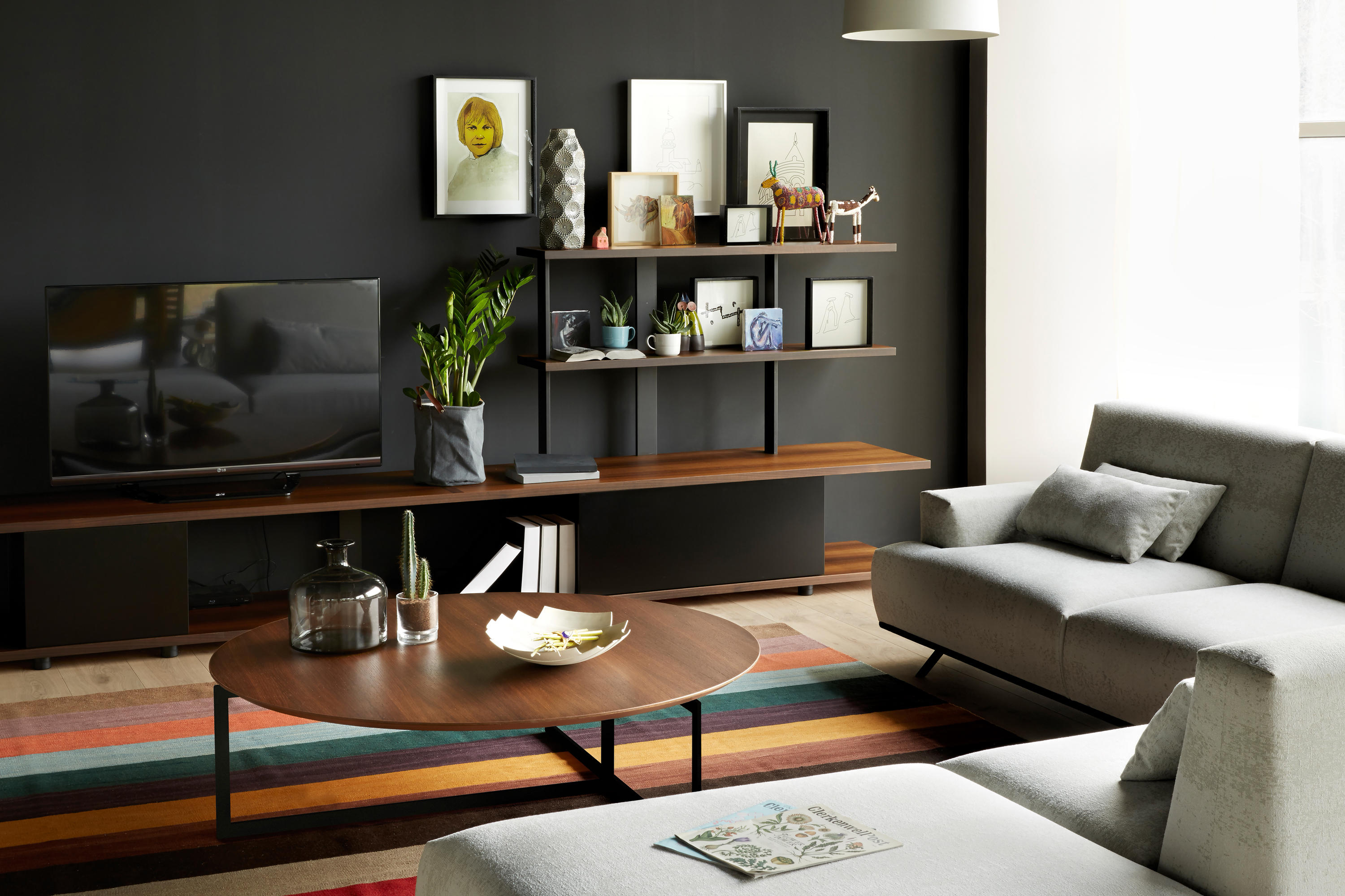 karnaval wall system tv unit regale von koleksiyon. Black Bedroom Furniture Sets. Home Design Ideas