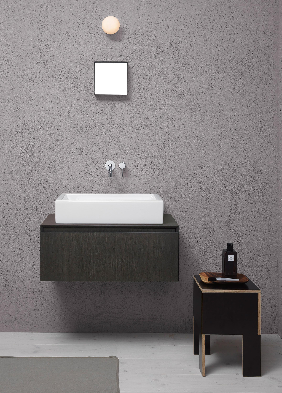 kube 37 ti waschbecken waschtische von gsi ceramica architonic. Black Bedroom Furniture Sets. Home Design Ideas