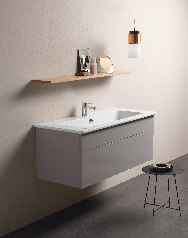 pura 40 u washbasin waschtische von gsi ceramica. Black Bedroom Furniture Sets. Home Design Ideas