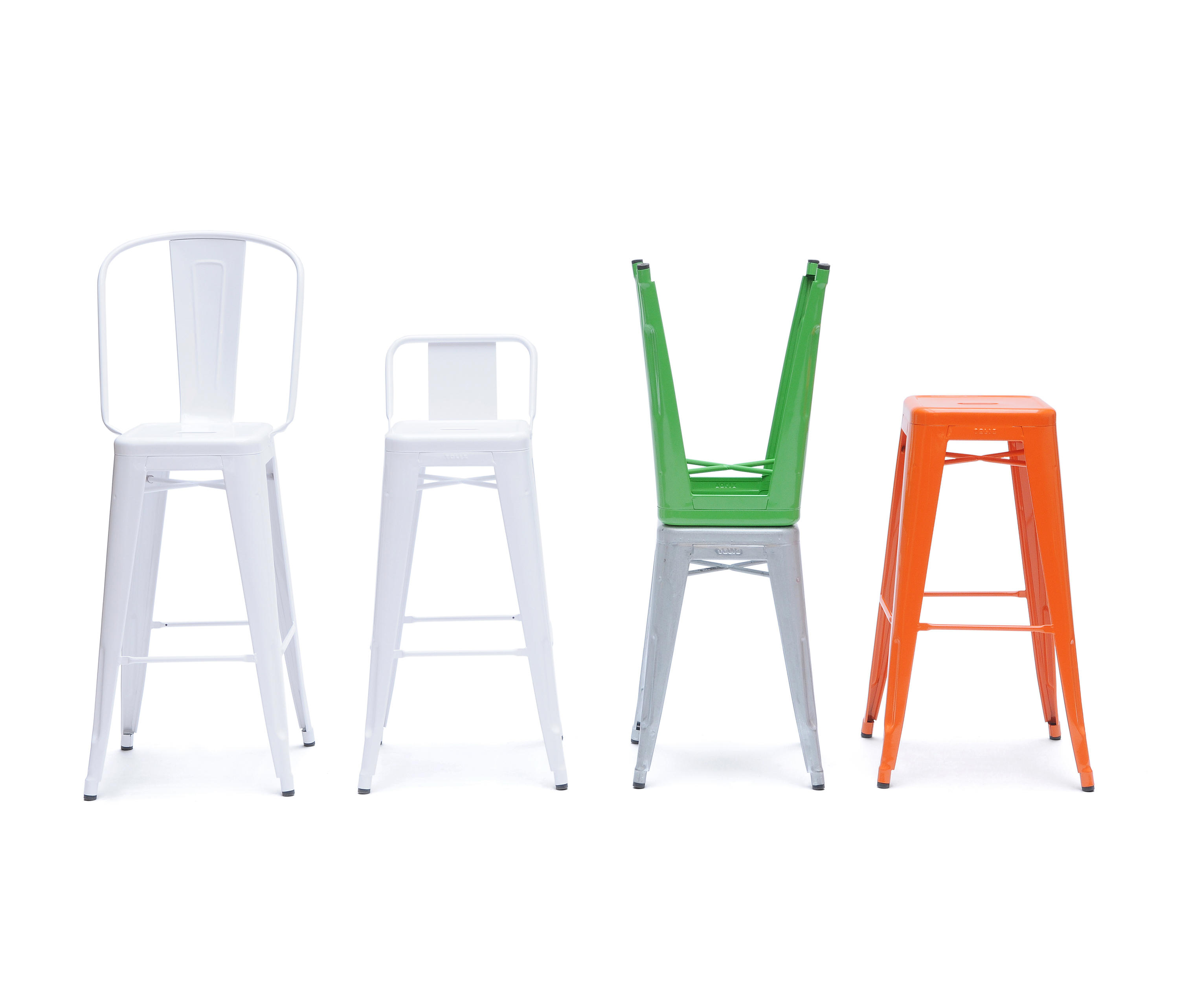 H80 Stools Bar Stools From Tolix Architonic