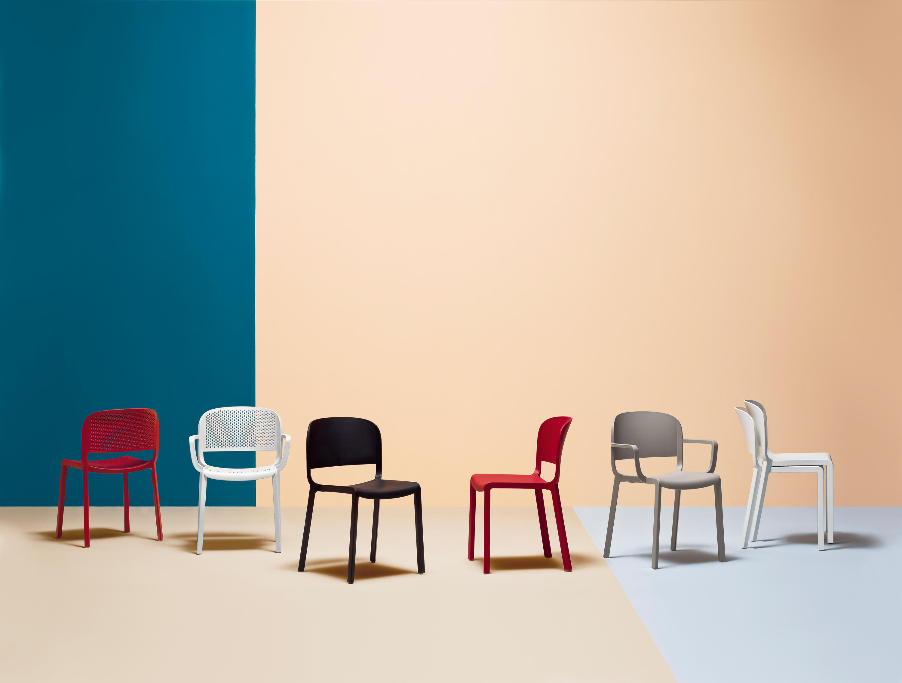 DOME 260 Multipurpose chairs from PEDRALI