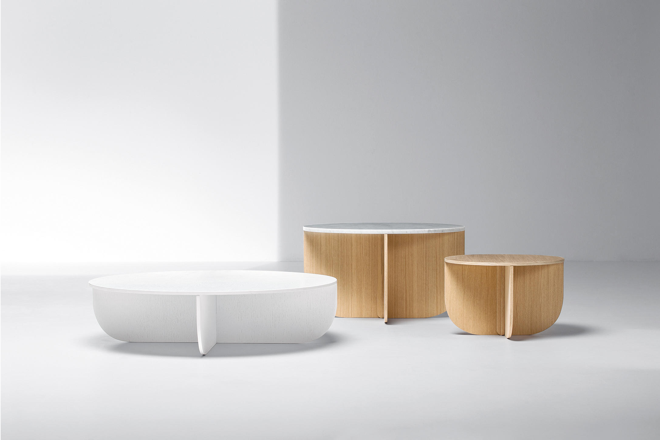 Mil Coffee Tables From La Cividina Architonic