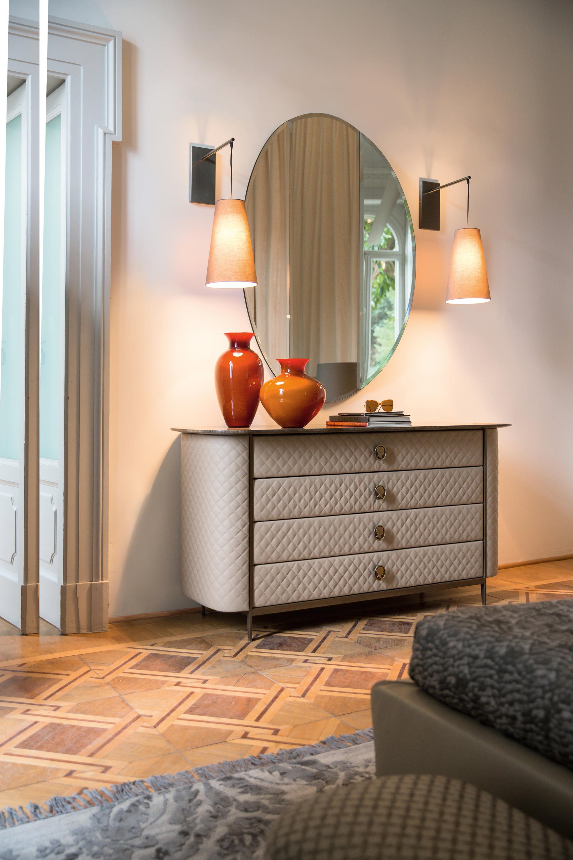 Penelope Bedside Table By Alberta Pacific Furniture ...