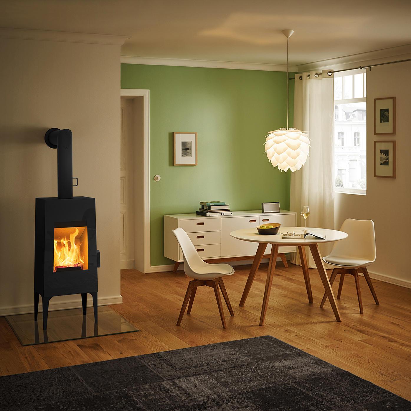 prix raisonnable tout à fait stylé volume grand Look | black + wooden bench + cushion with orange fabric ...