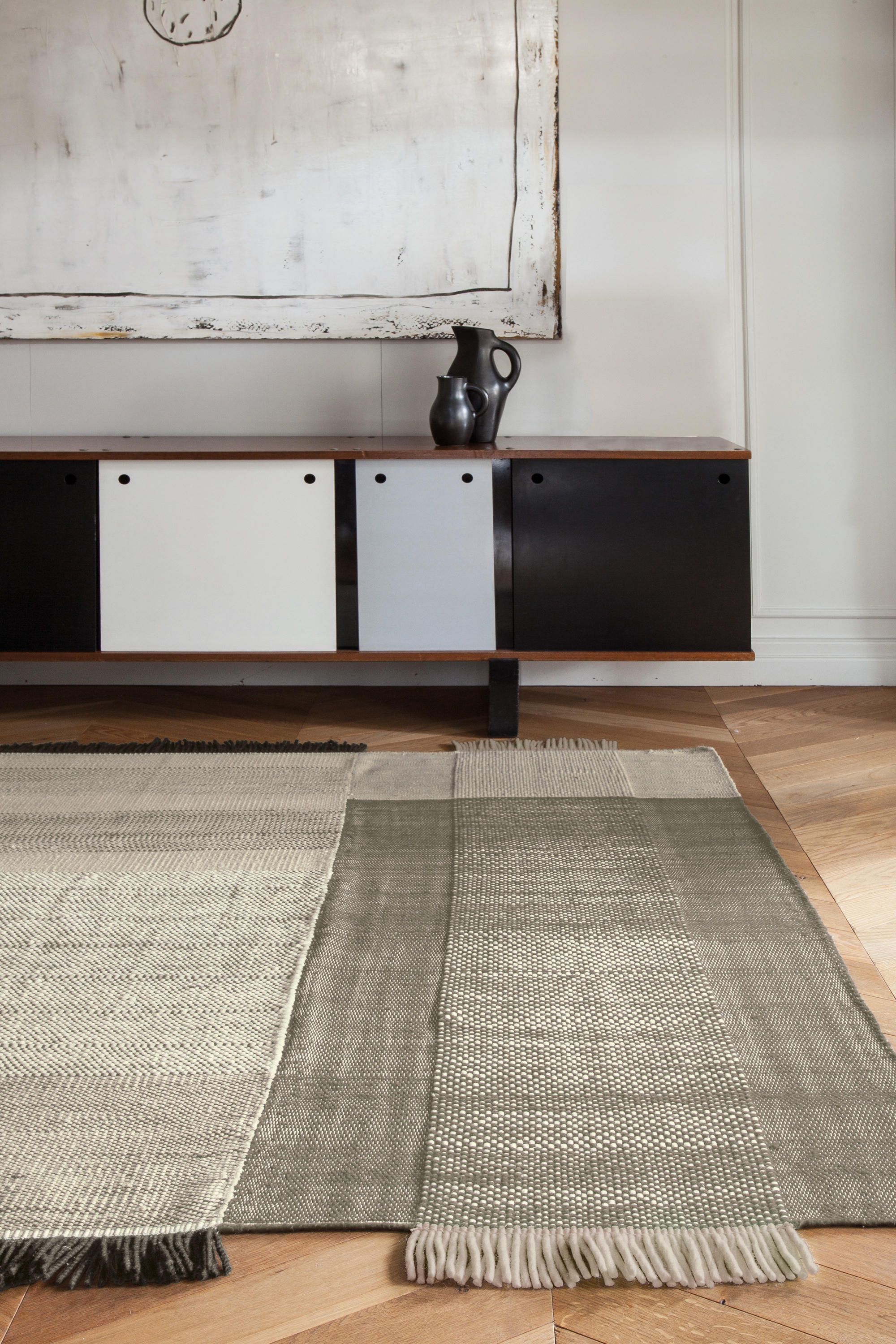 Tres Black Rugs From Nanimarquina Architonic
