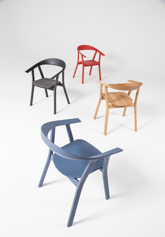 rhomb stuhl lackiert von prostoria