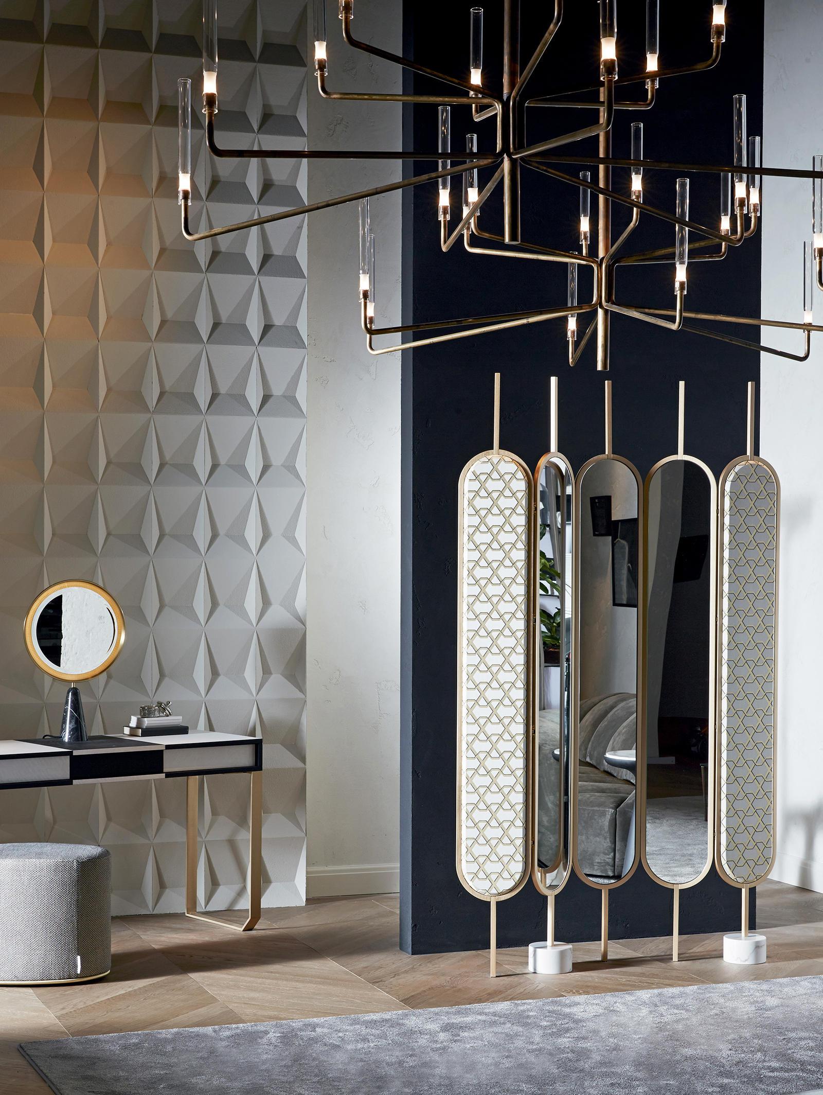 chlo screen mirrors from gallotti radice architonic. Black Bedroom Furniture Sets. Home Design Ideas