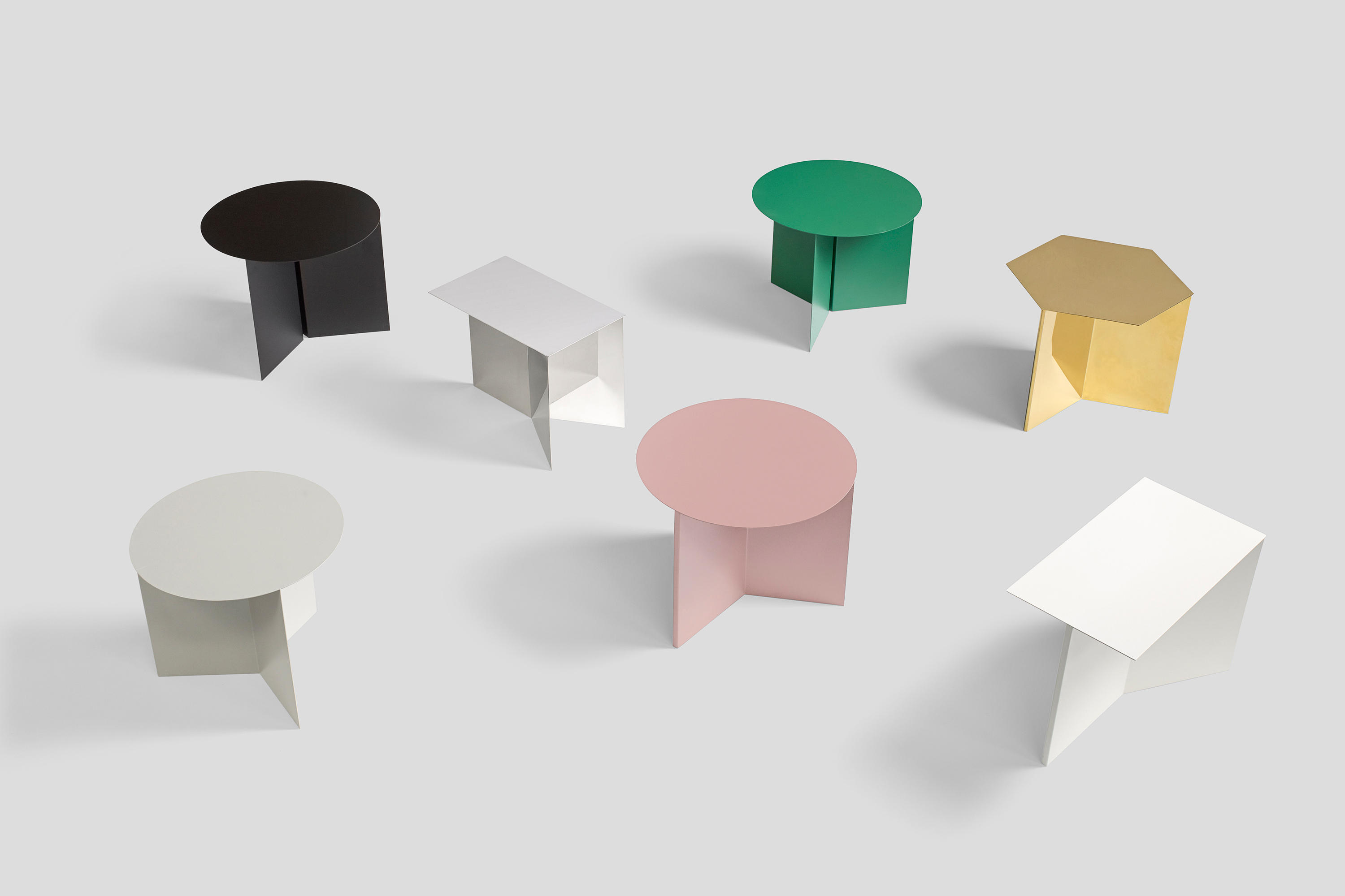 Slit Table Hexagon Side Tables From Hay Architonic
