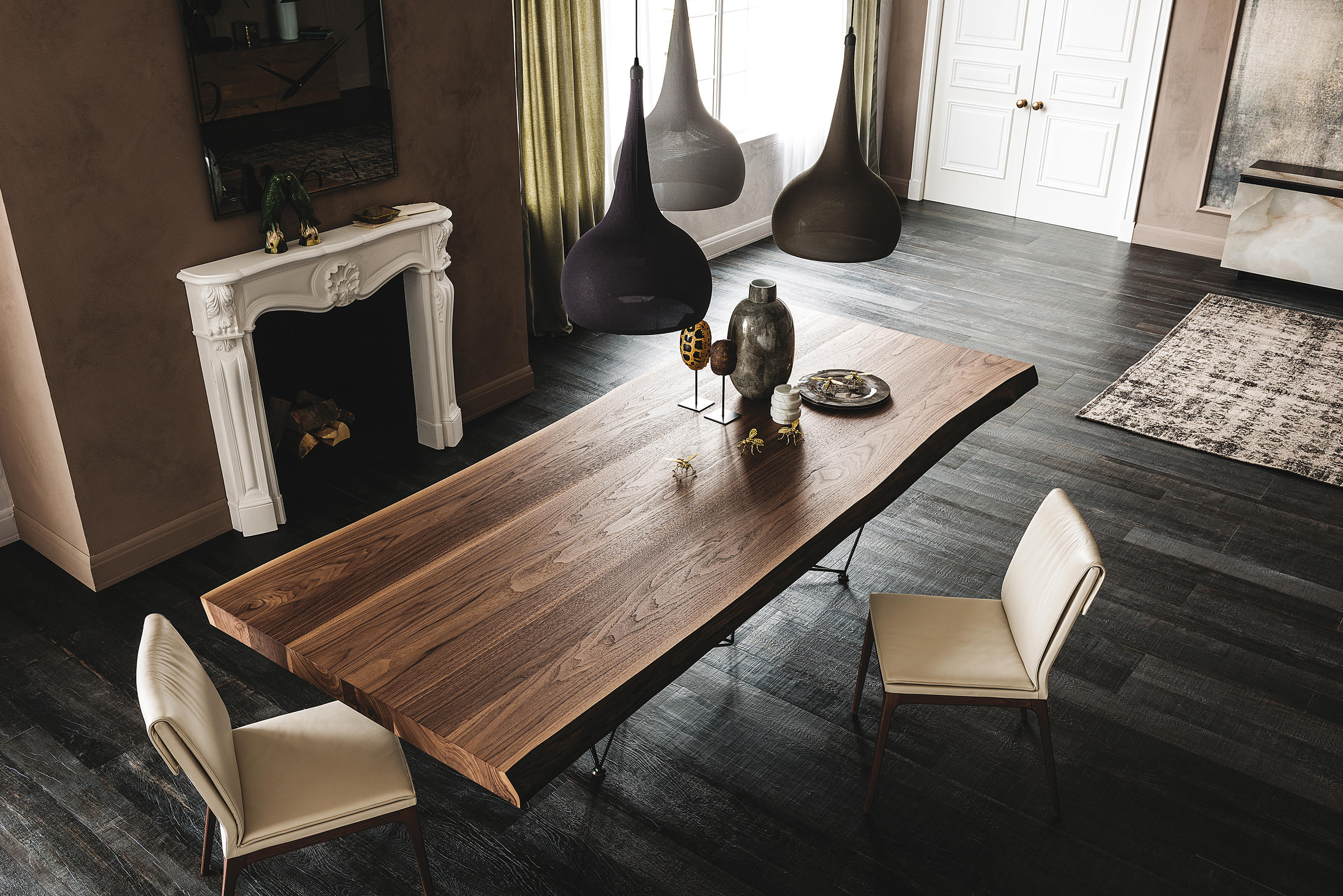 Gordon dining tables from cattelan italia architonic for Foto di interni case bellissime