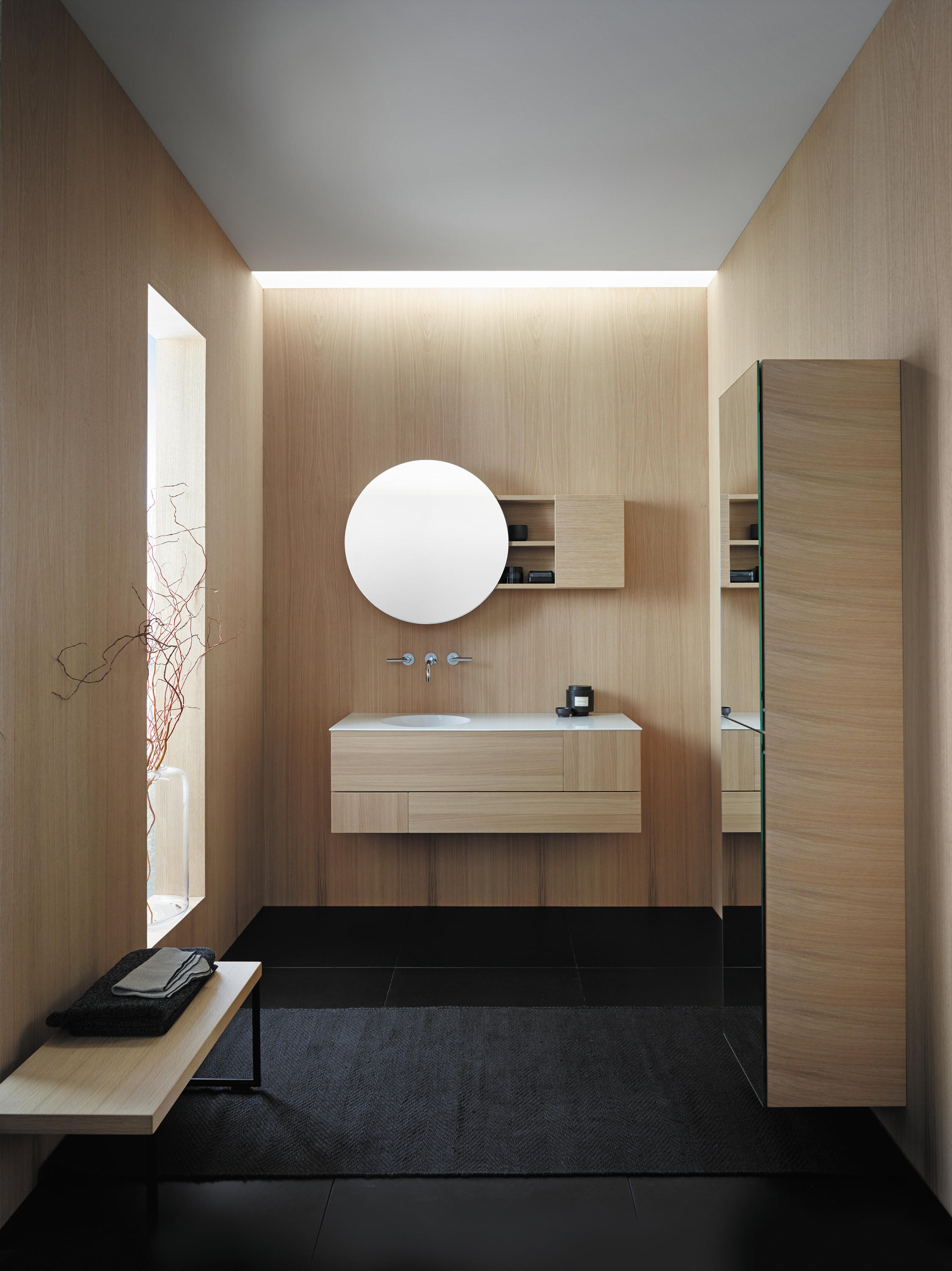 Coco Bench Bath Shelves From Burgbad Architonic