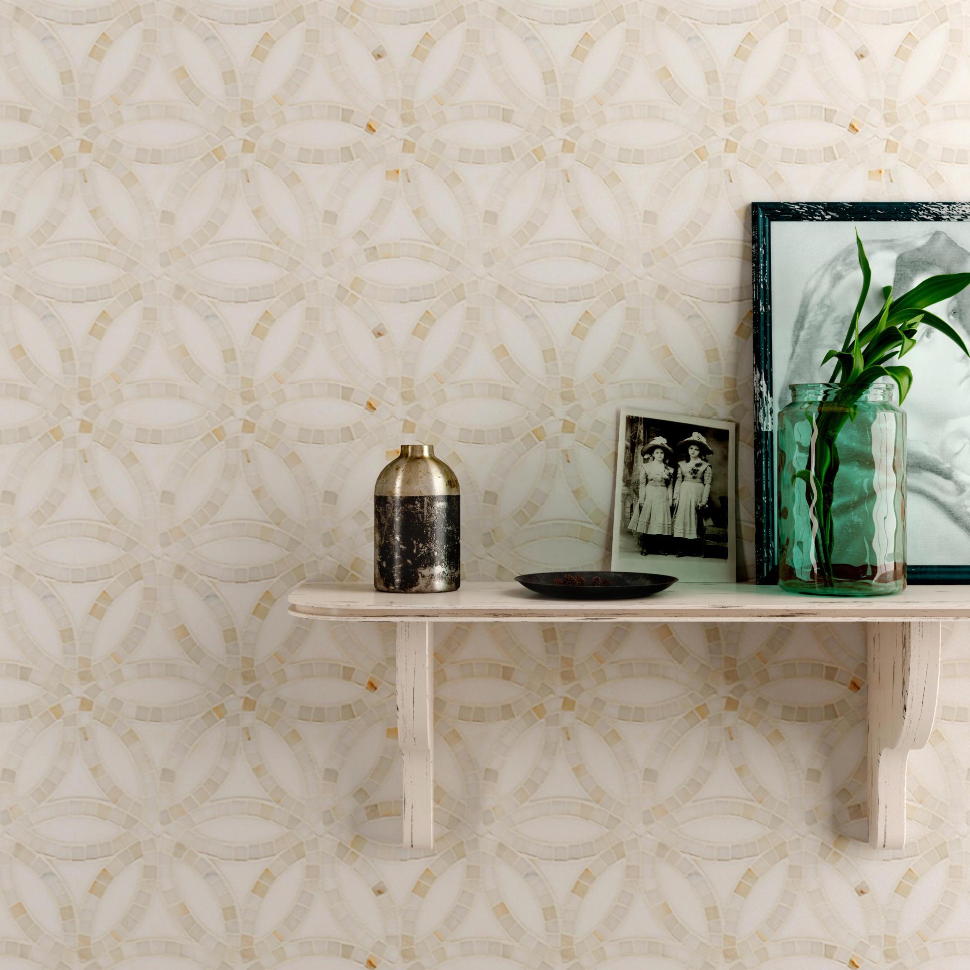 Belle epoque serpentine natural stone tiles from claybrook interiors ltd - Belle epoque interiors ...