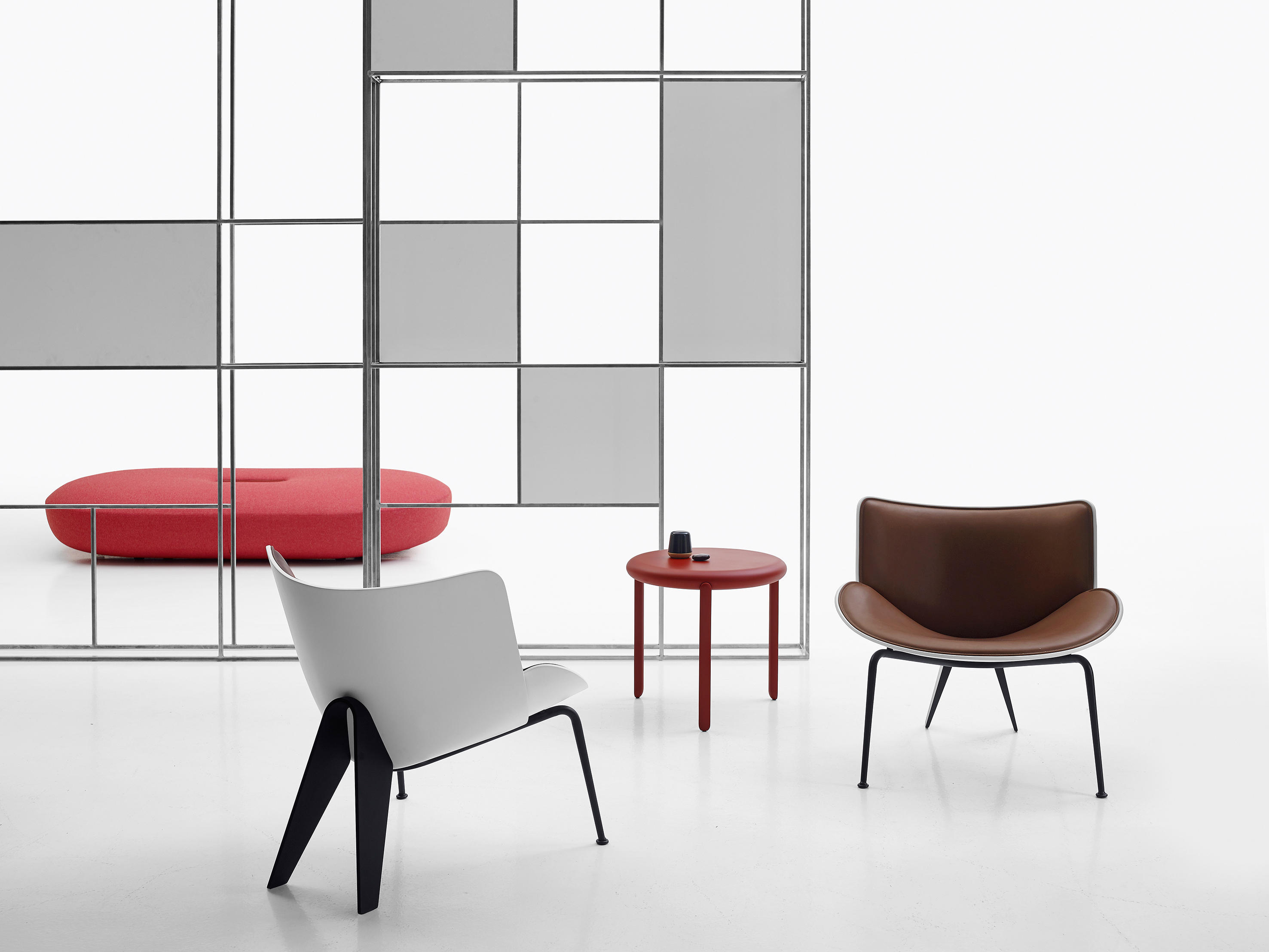 Do maru armchairs from b b italia architonic for B b italia novedrate