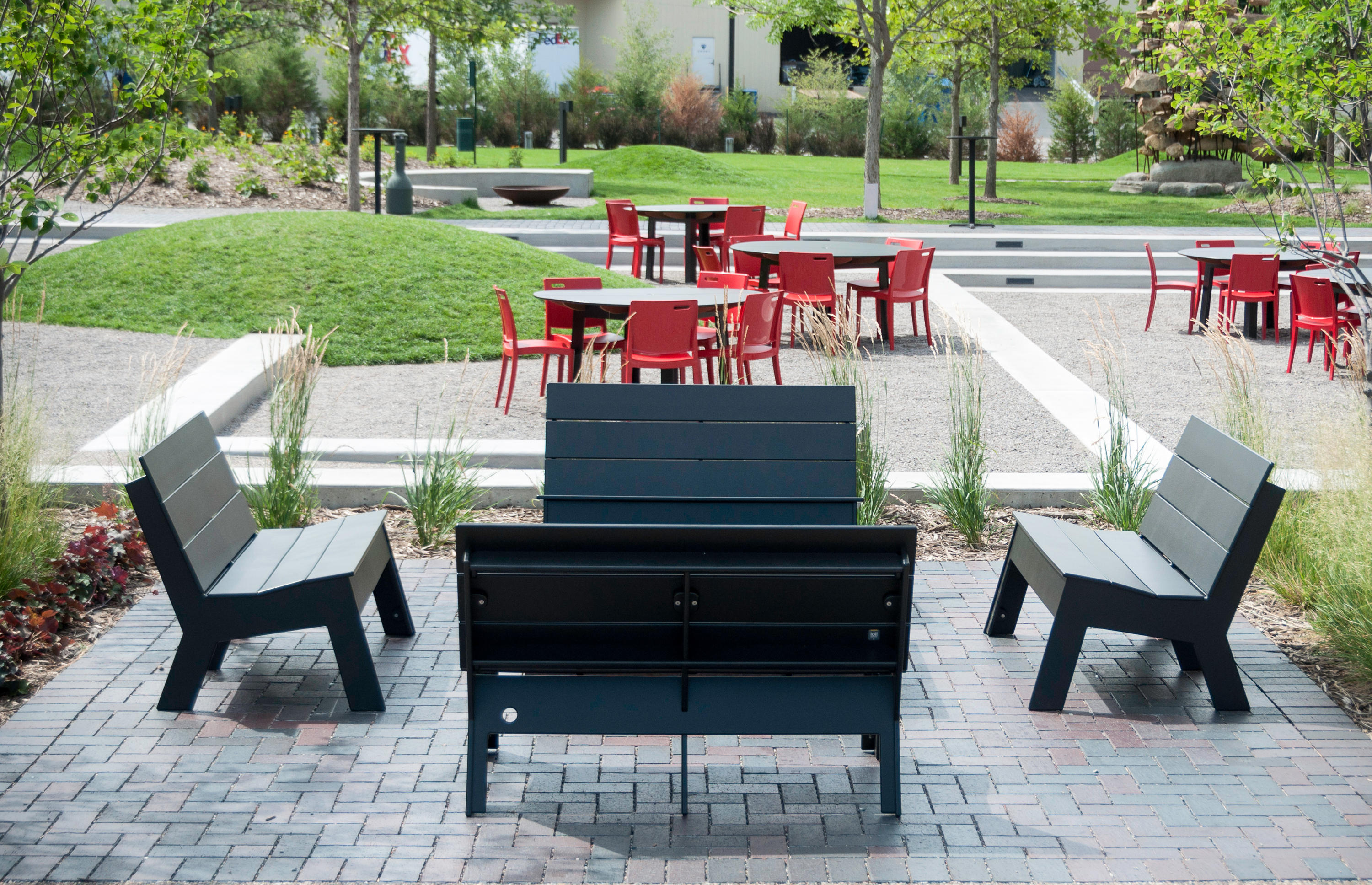 ... Fire Bench by Loll Designs