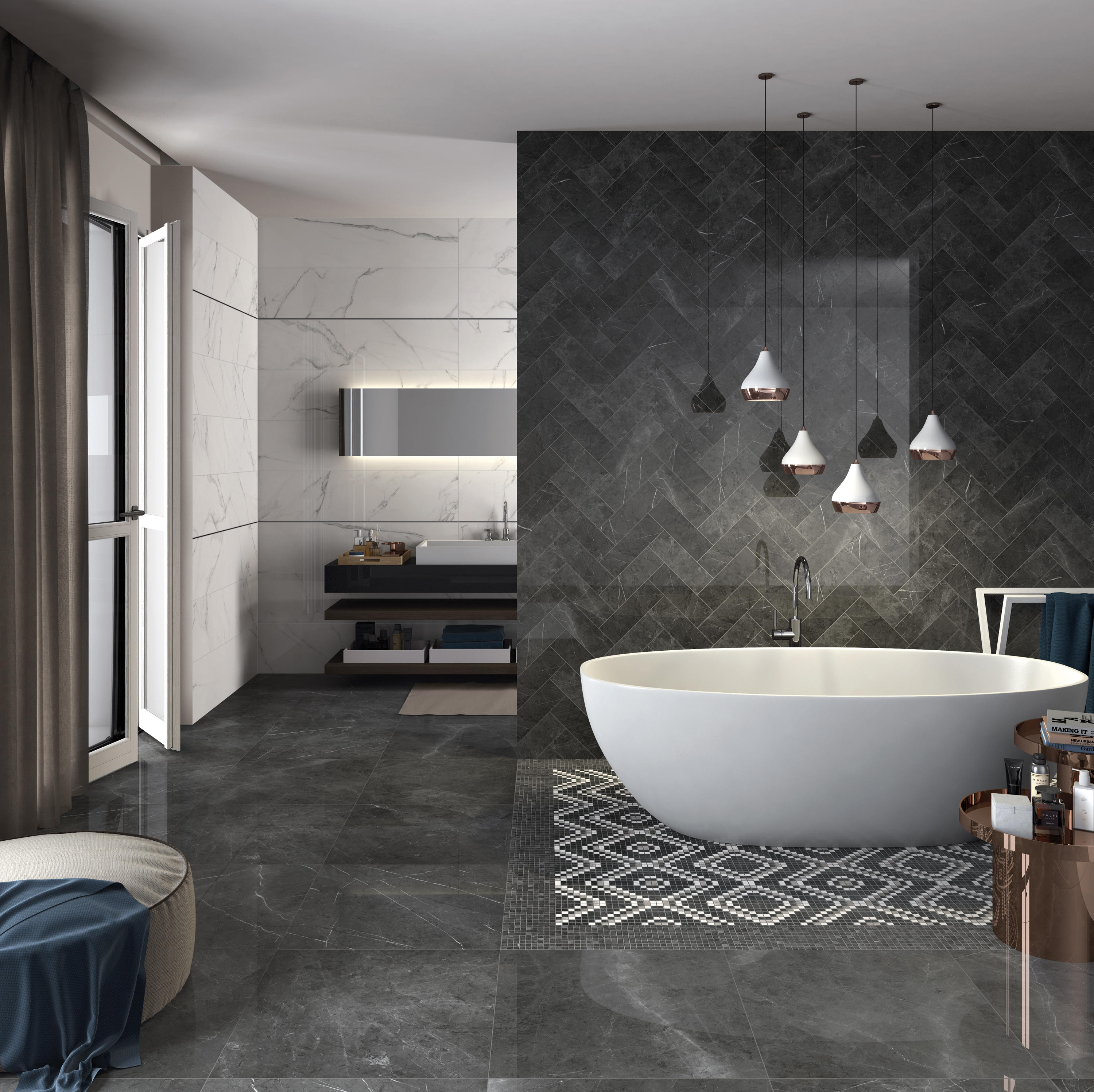 Sensi arabesque silver floor tiles from abk group architonic ambient images dailygadgetfo Choice Image