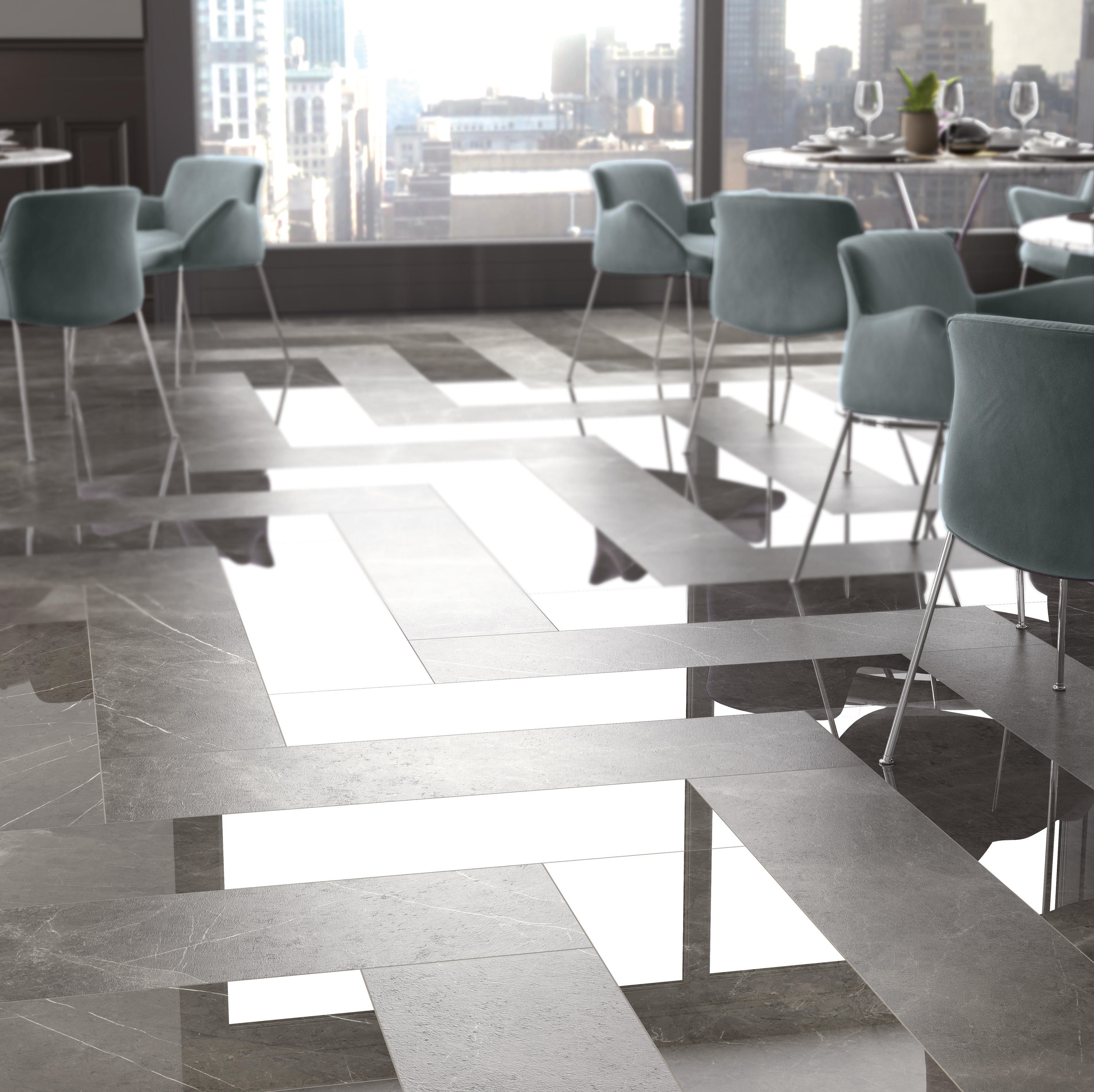 Sensi arabesque silver floor tiles from abk group architonic ambient images doublecrazyfo Choice Image