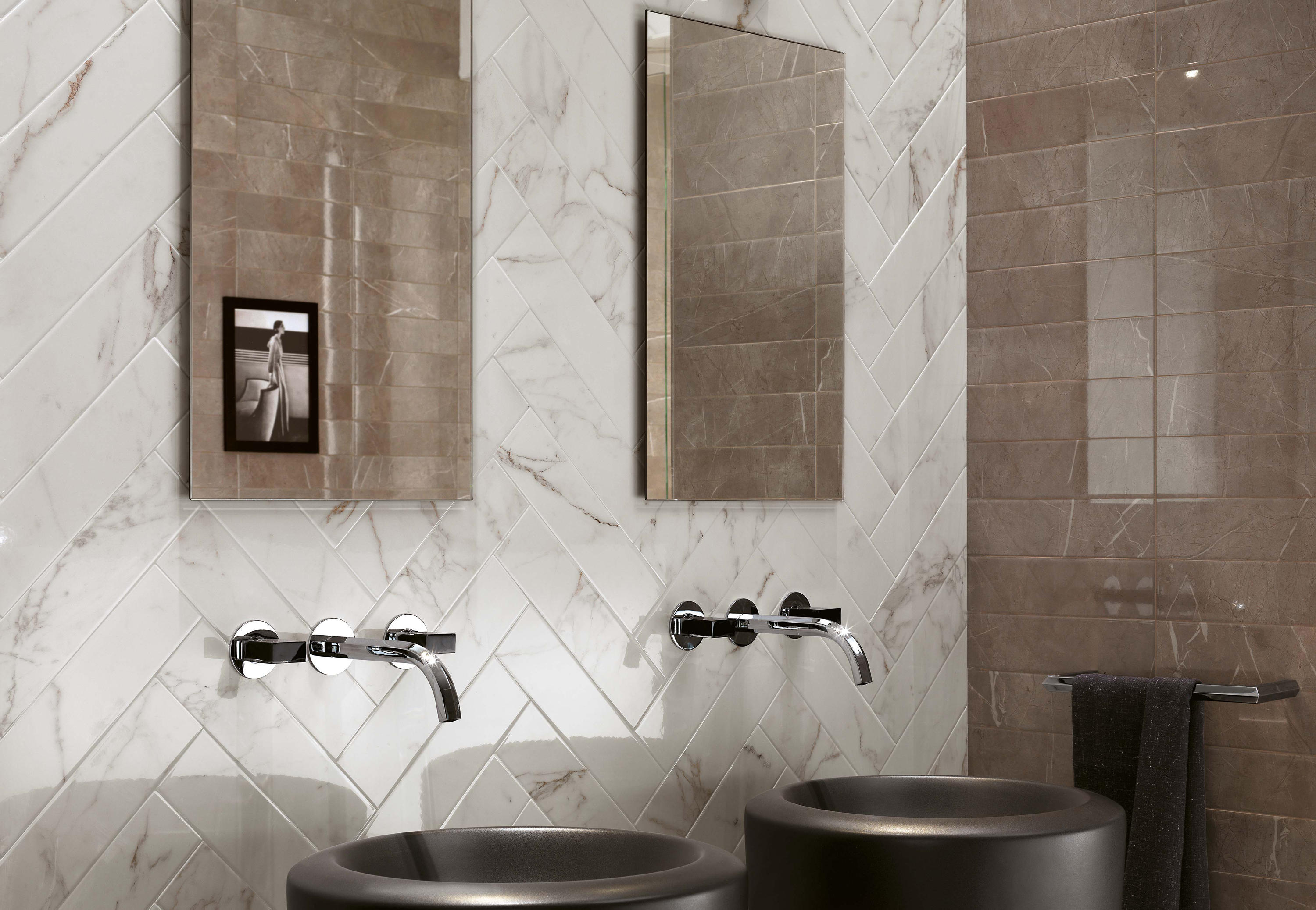 Brick Atelier Calacatta Ceramic Tiles From Atlas