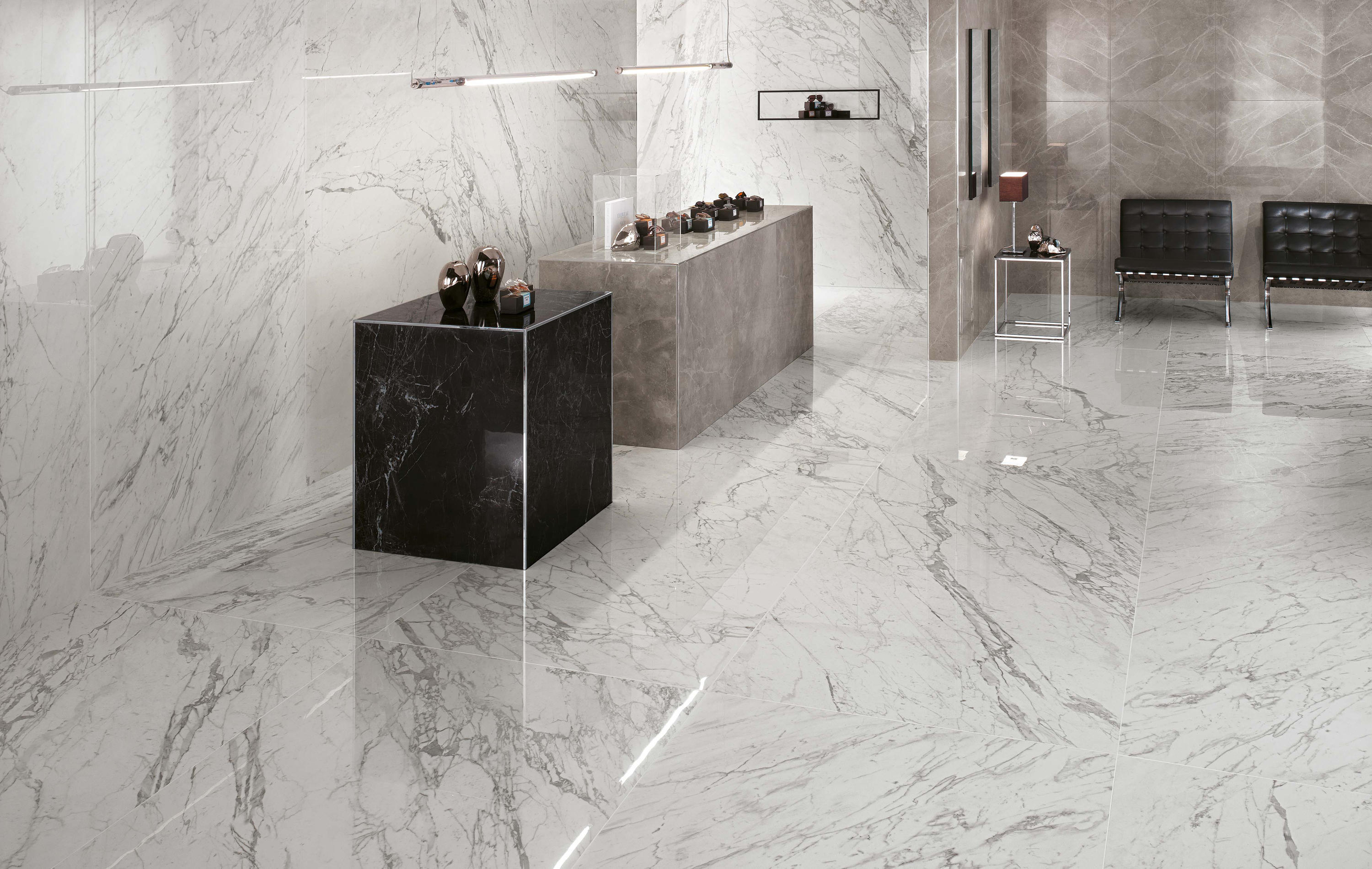 Marvel xl pro cremo ceramic panels from atlas concorde for Carrelage 120x120