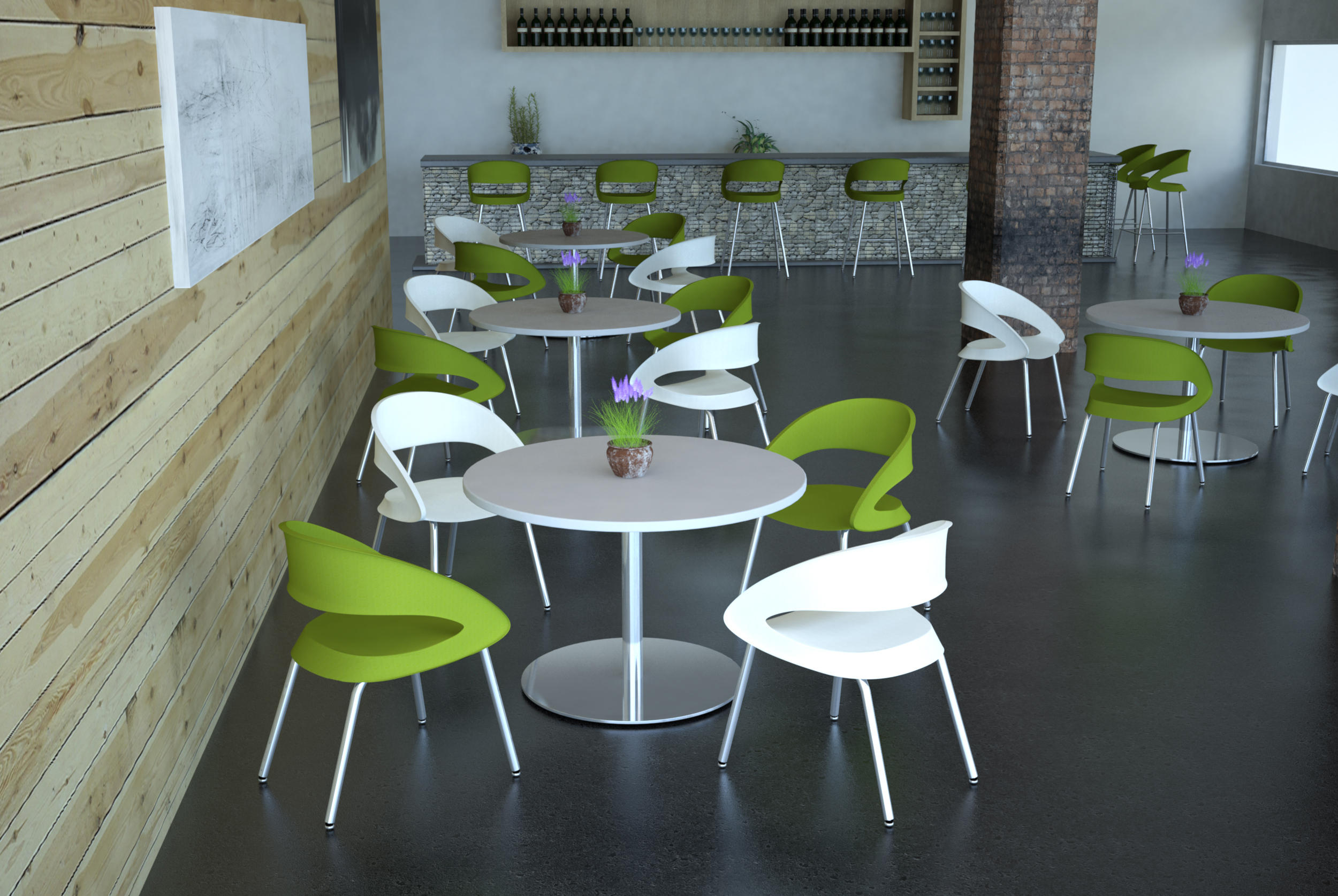 Foray caf chair chairs from erg international architonic for International seating and decor