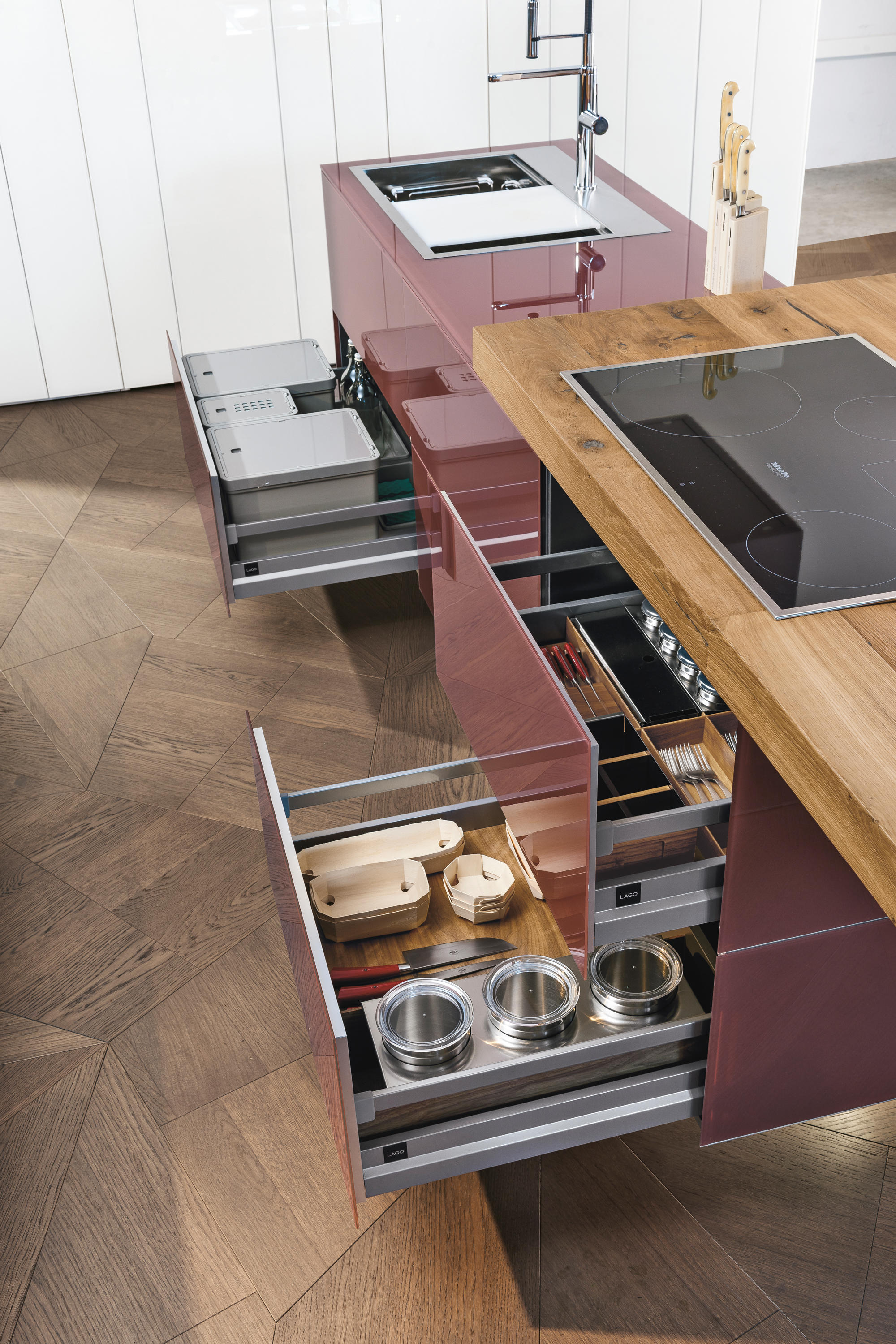 36e8 kitchen wildwood fitted kitchens from lago architonic