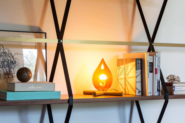 Fire kit table lamp tischleuchten von skitsch by hub design