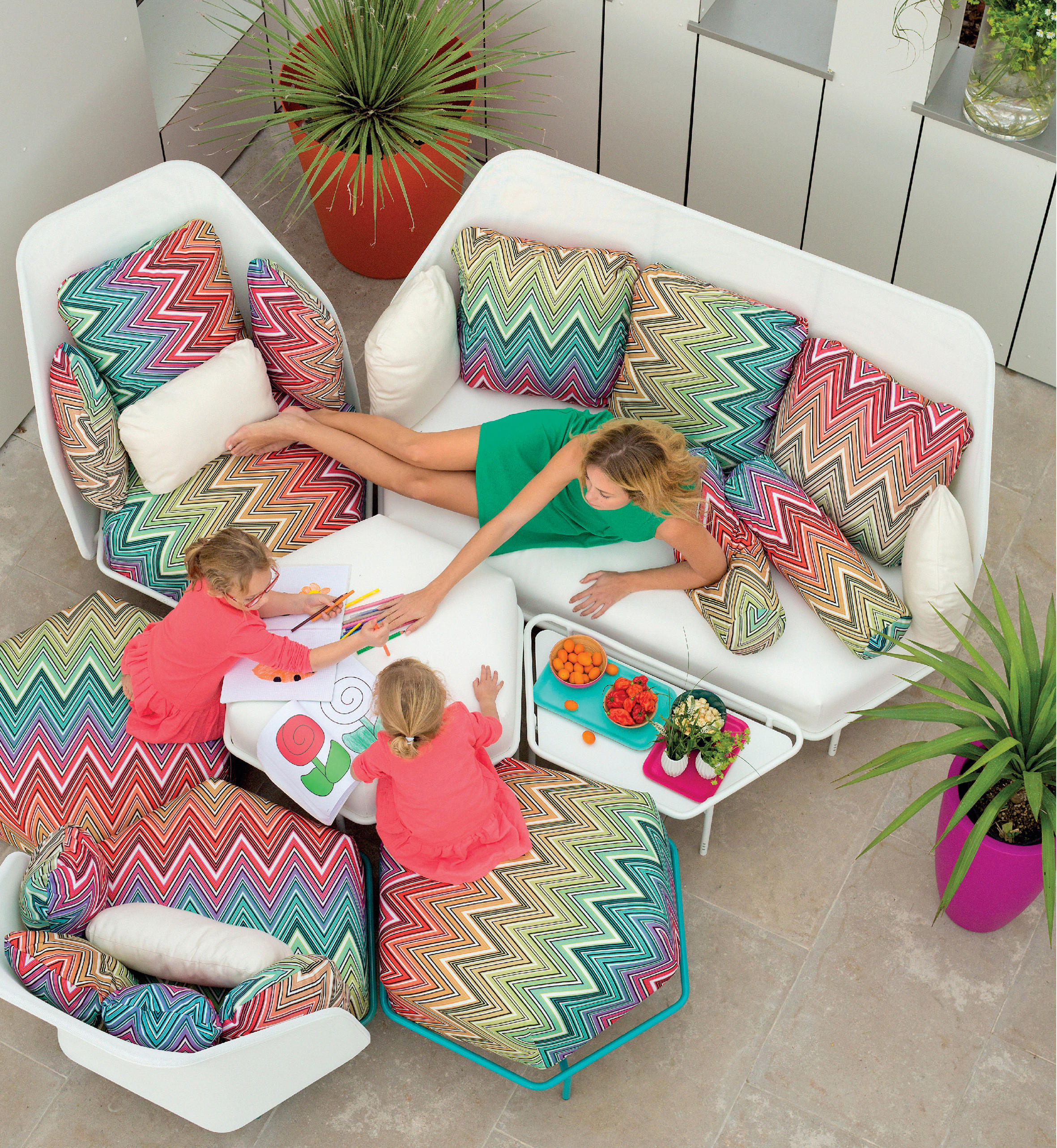 pillows pillow reversible bedrooms cushion missoni pin