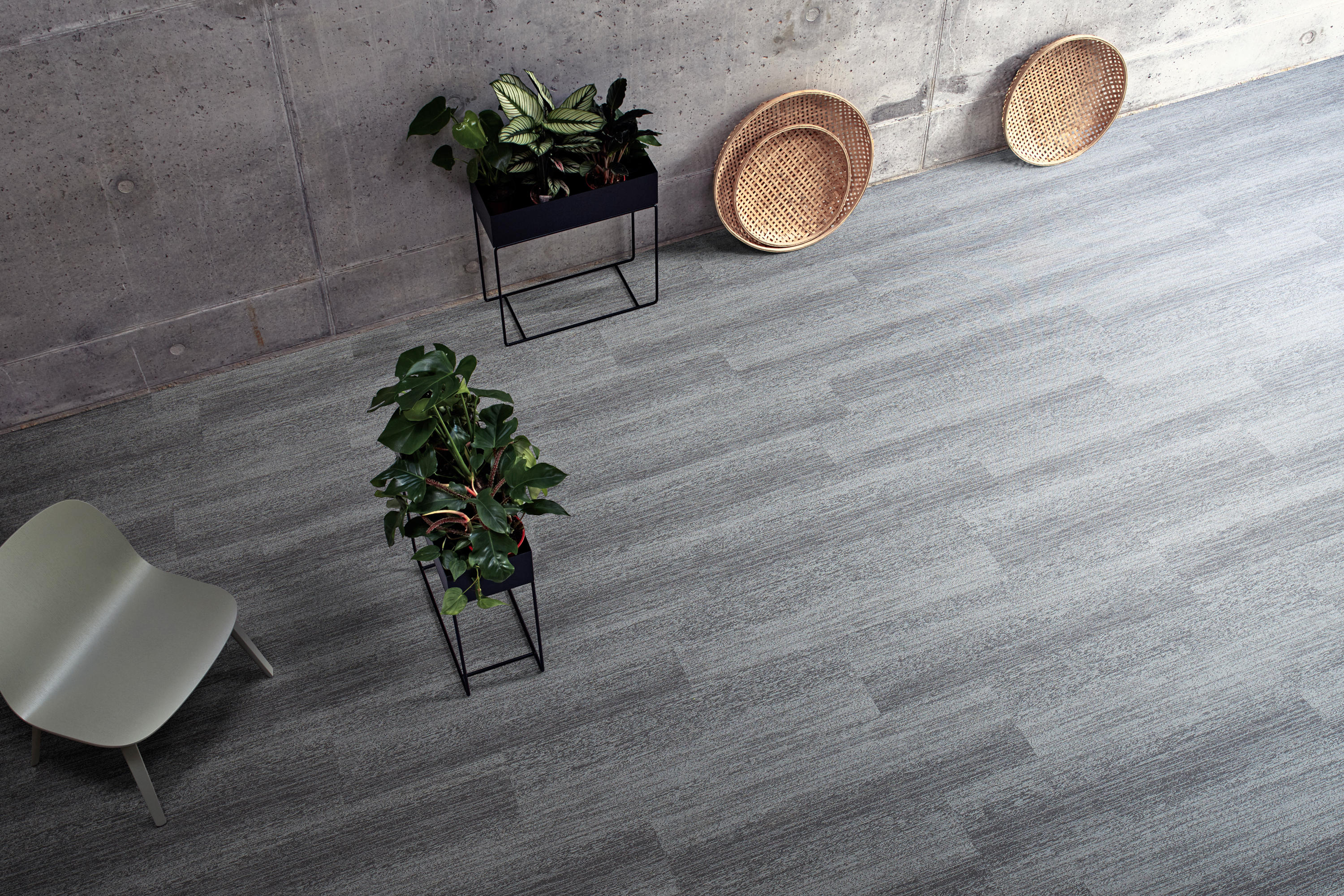 Touch Of Timber Balsa Carpet Tiles From Interface