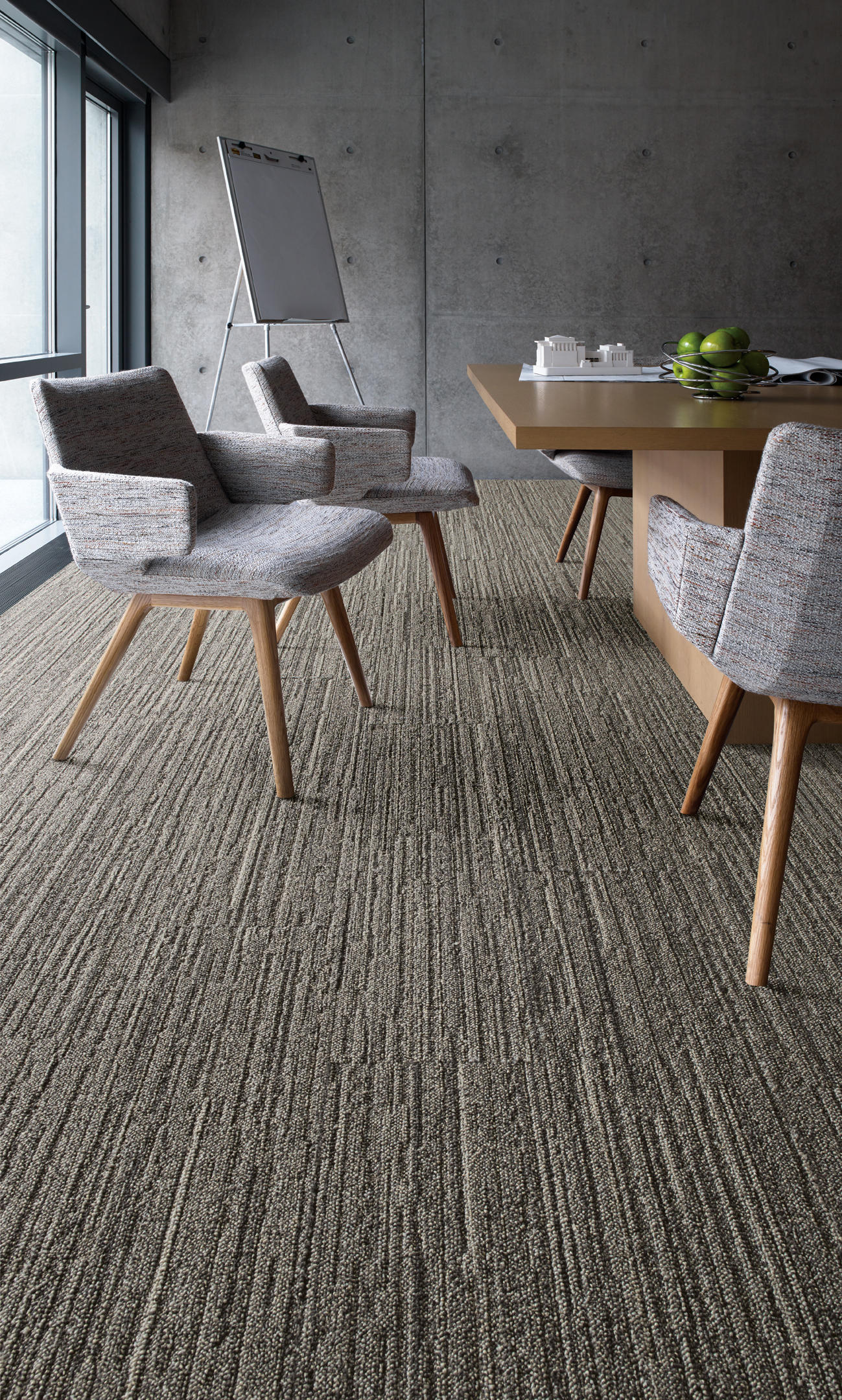 World Woven 880 Linen Loom Carpet Tiles From Interface
