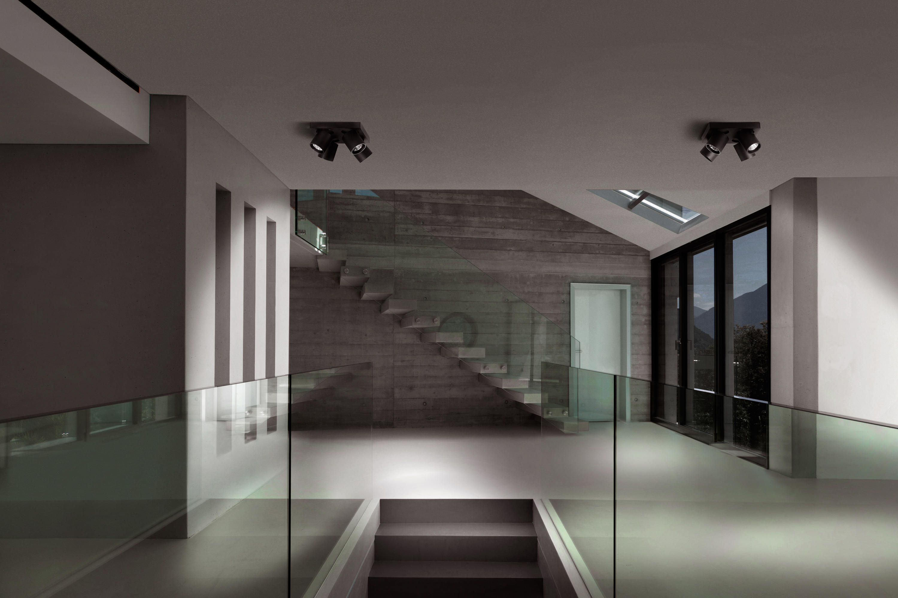 Focus 1 Ceiling Mounted Spotlights From Light Point