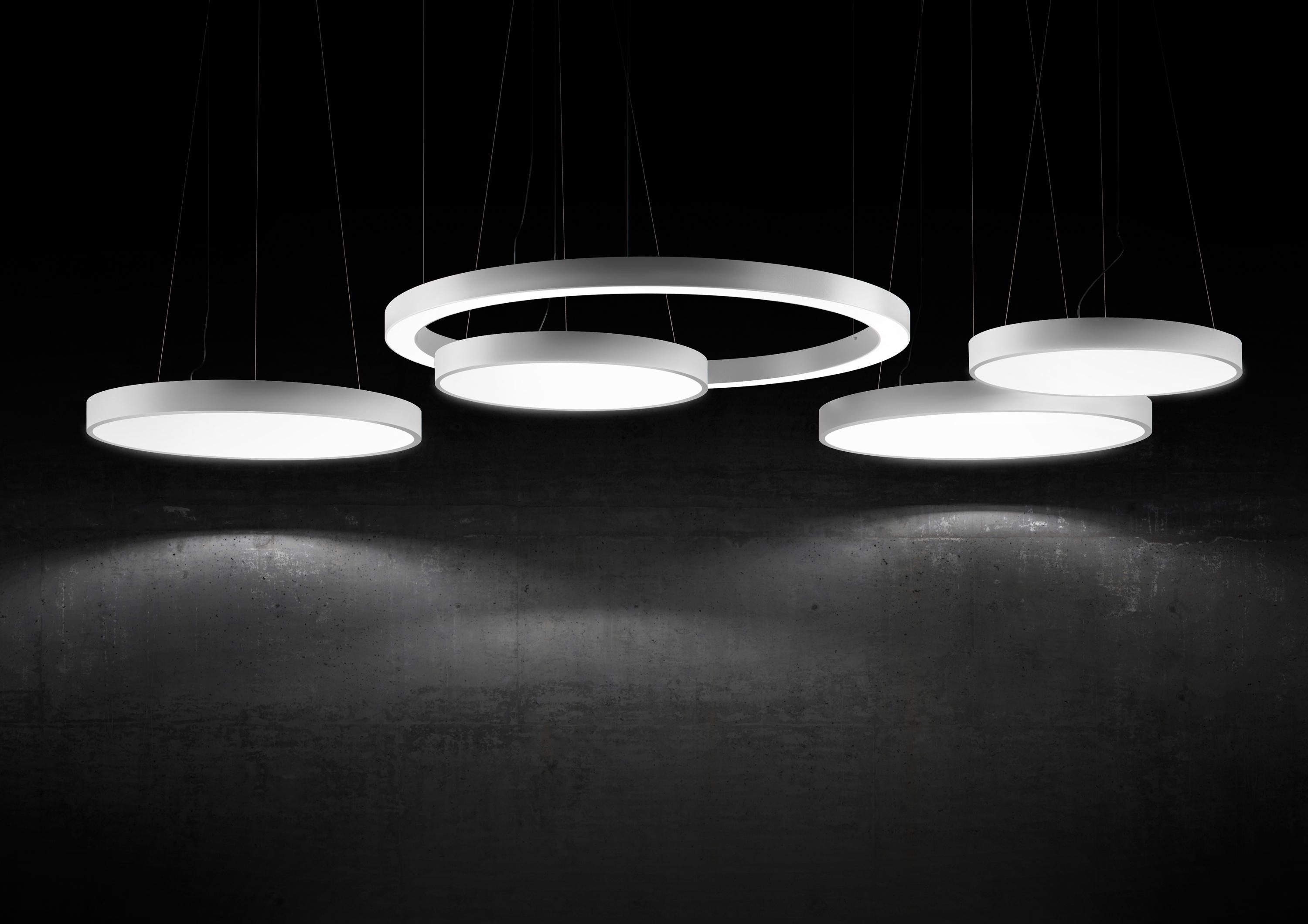 Silver Ring General Lighting From Panzeri Architonic