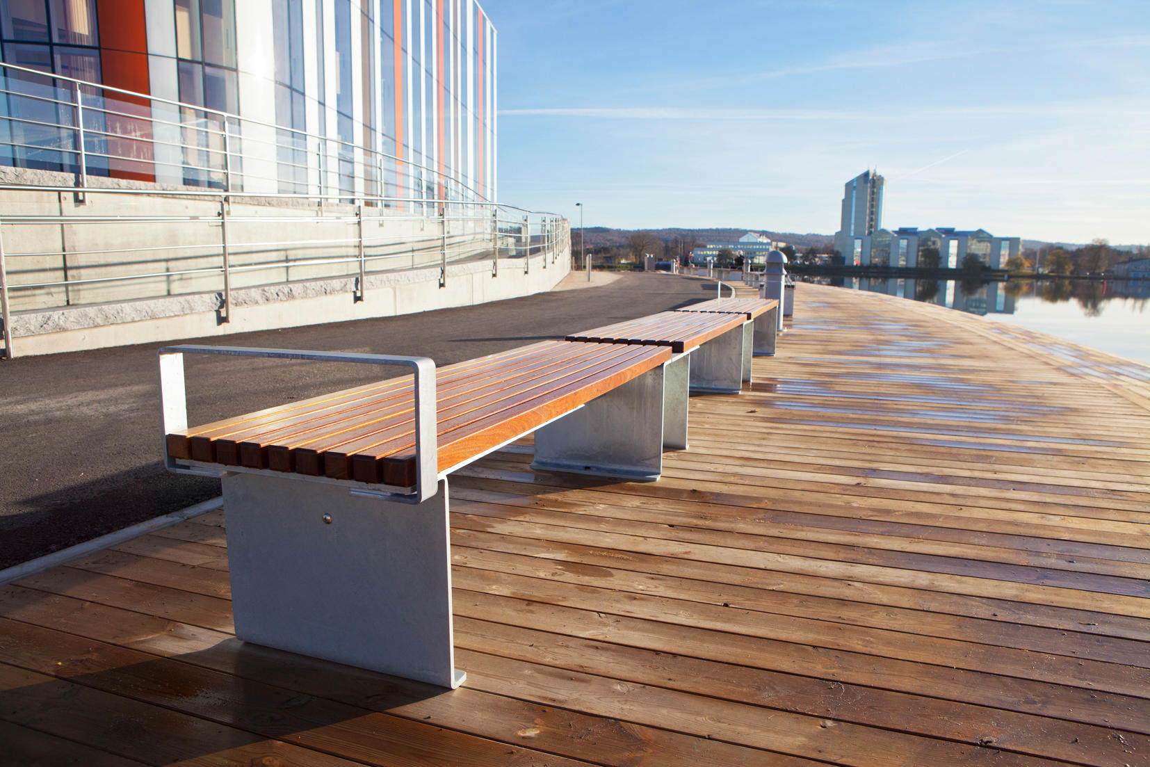 Birka Bench Benches From Hags Architonic