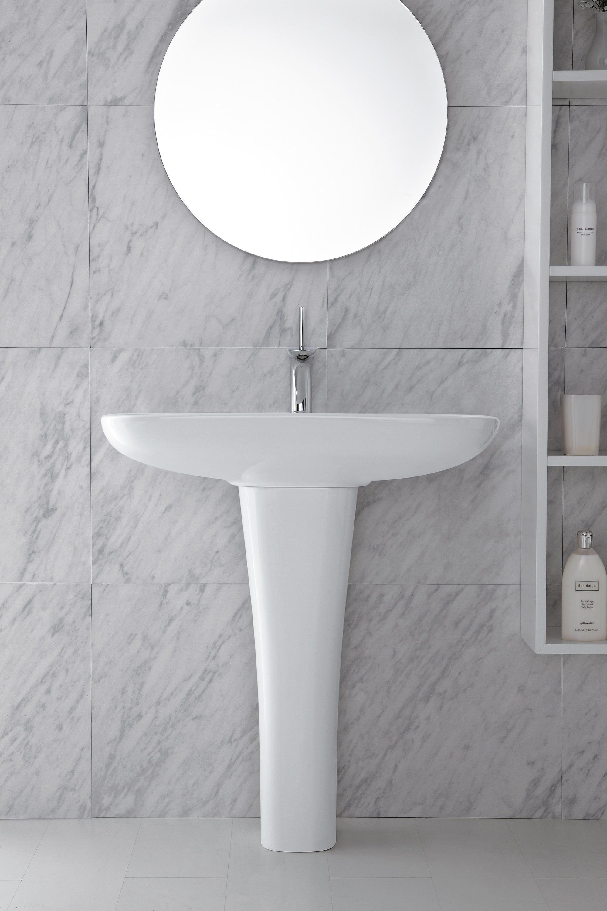 Clear One Hole Wall Hung Bidet Bidets From Olympia Ceramica