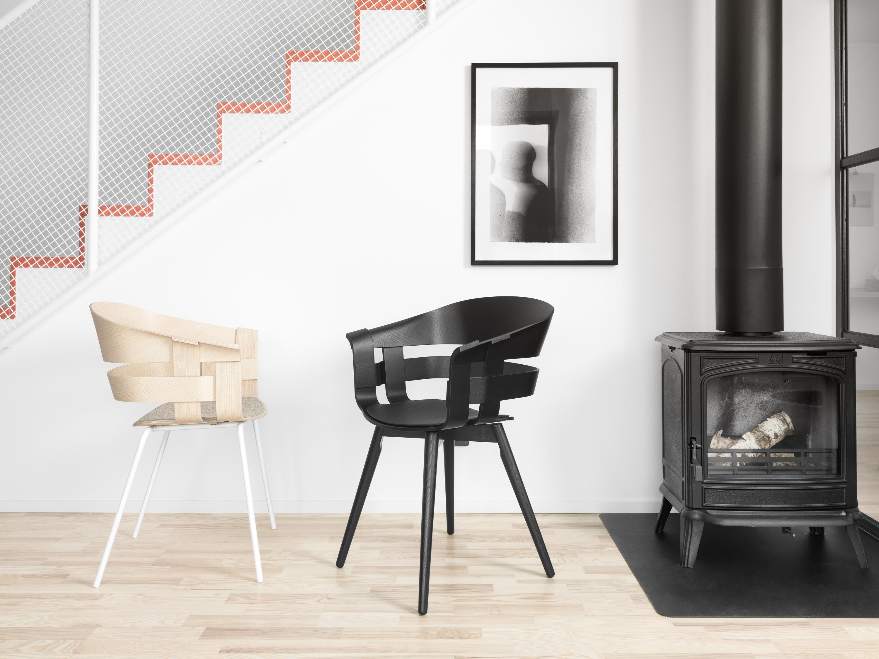 wick chair restaurant chairs from design house stockholm. Black Bedroom Furniture Sets. Home Design Ideas