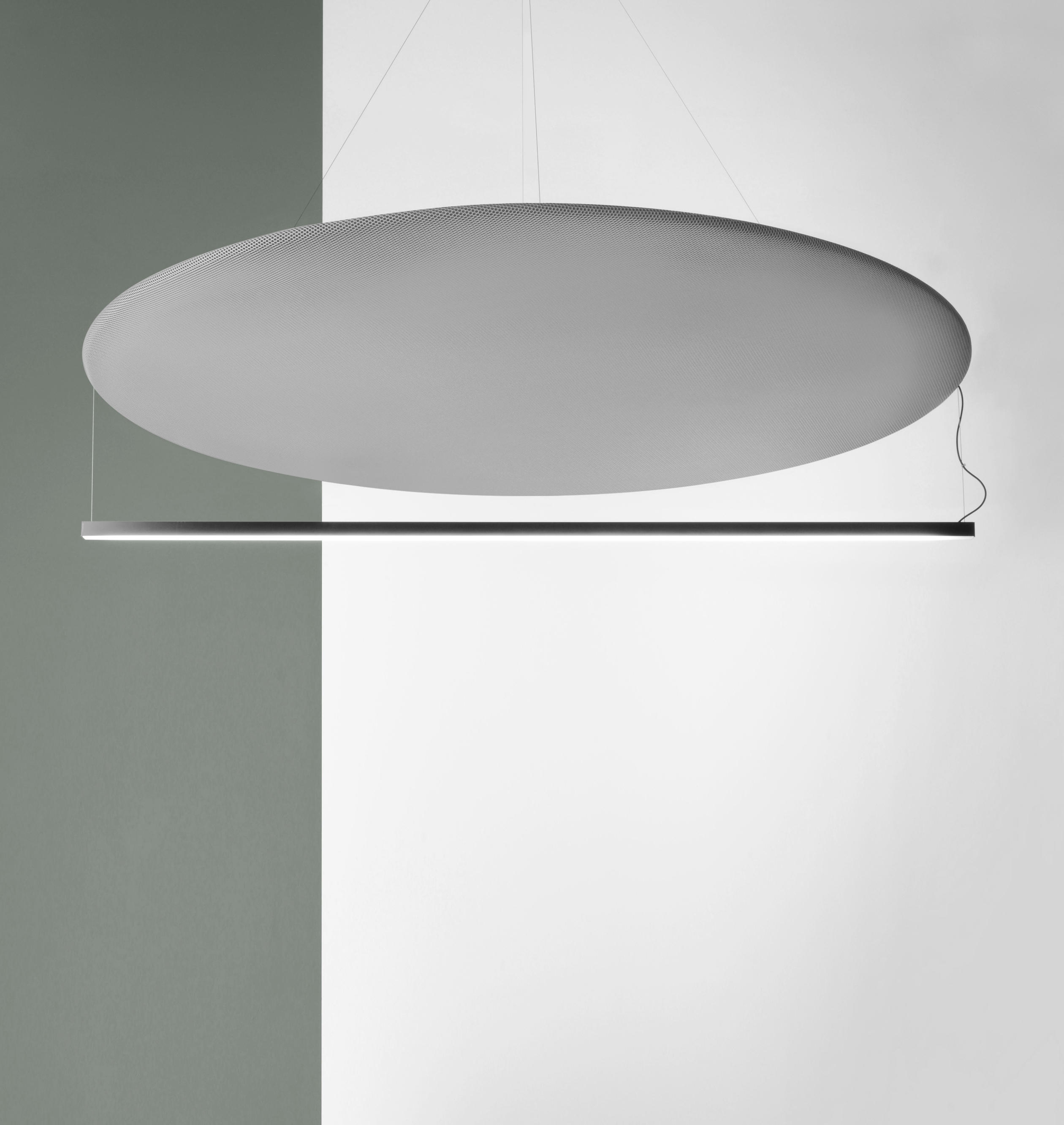 Acoustic Light Fixtures : Circus s round light acoustic general lighting