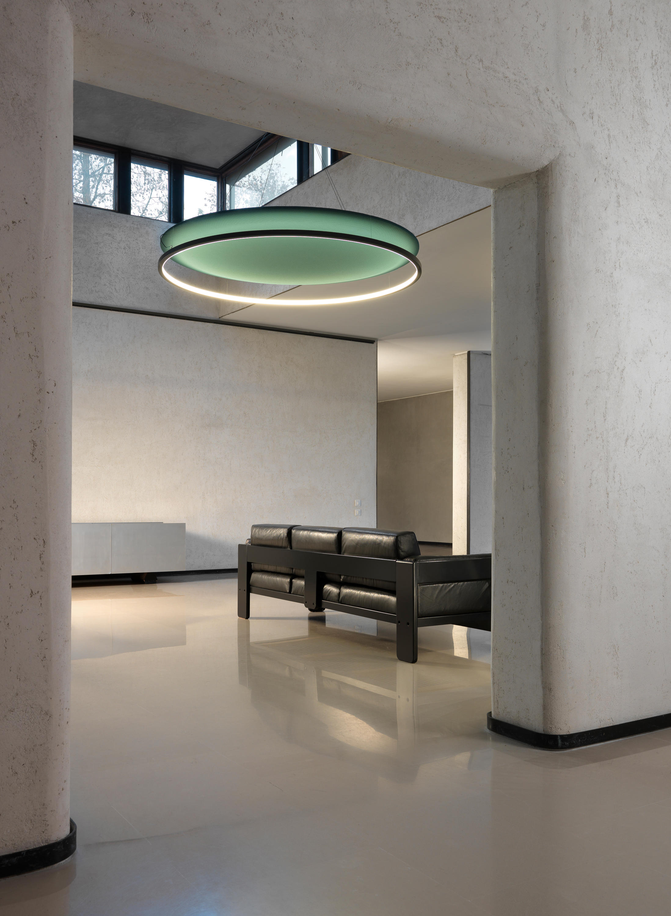Circus S1500 Round Light Acoustic Suspended Lights From Amp Costa Architonic