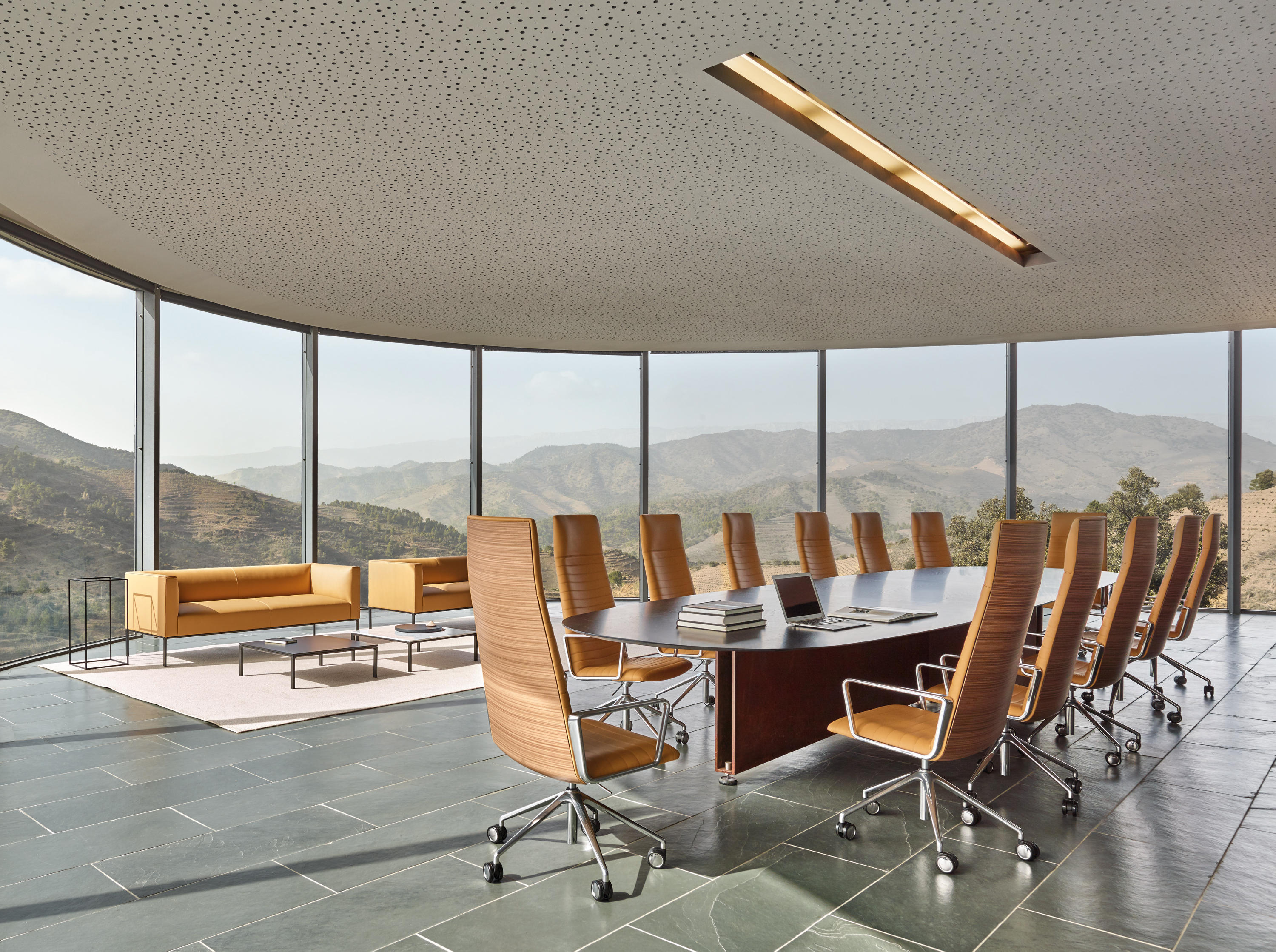 Flex Executive Si 1859 Chairs From Andreu World Architonic