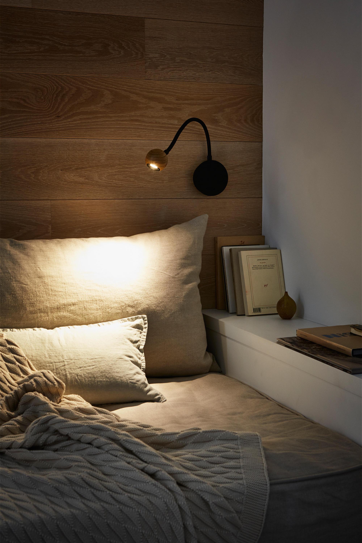 No 8 Oak Wall Lights From Marset Architonic