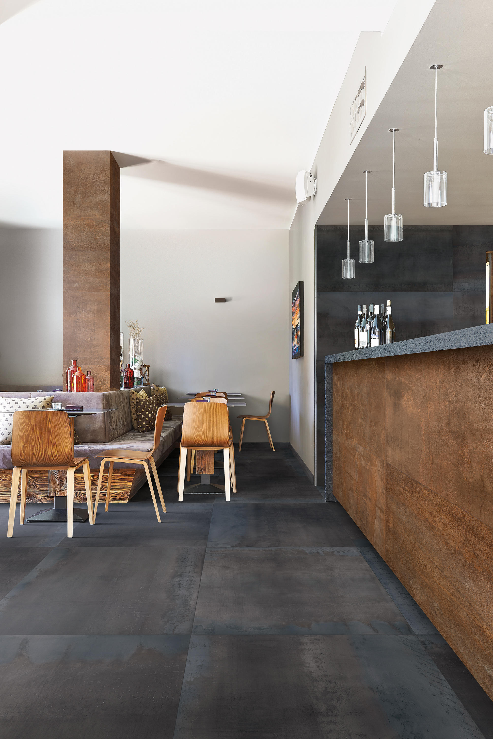 Metal Style Calamine Floor Tiles From Emilgroup Architonic