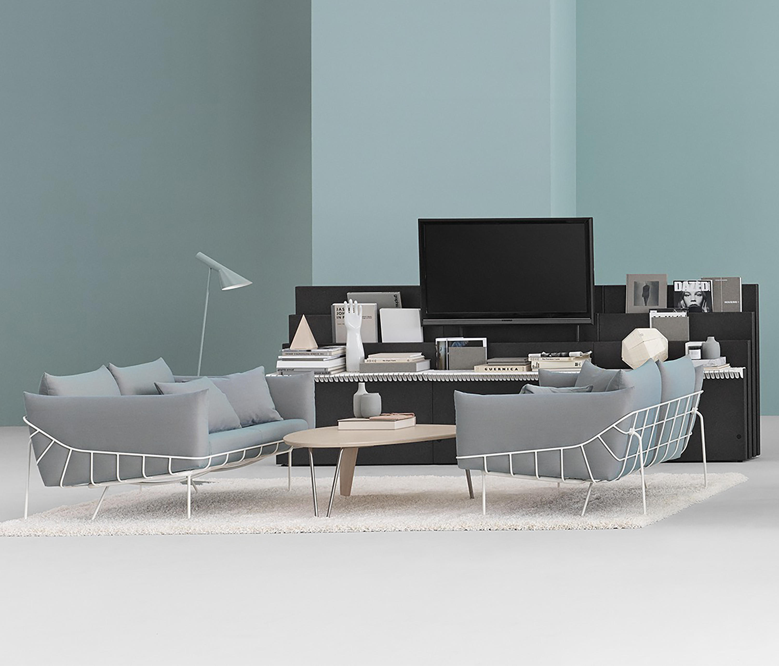 WIREFRAME SOFA 2 SEAT Lounge sofas from Herman Miller