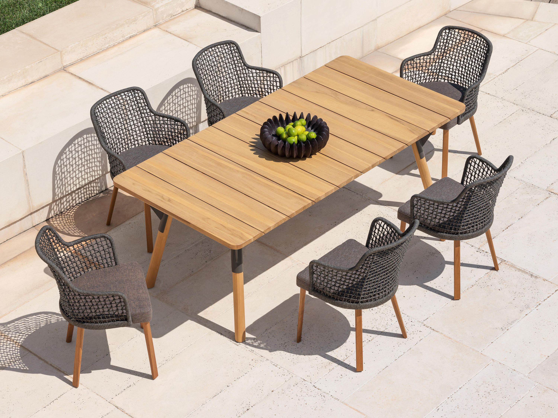 Link tavolo tavoli pranzo varaschin architonic for Produttori tavoli allungabili