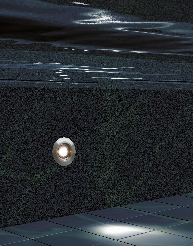 L03 Stainless Steel Lampade Parete Incasso Mp Lighting