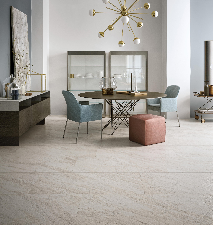 Stonework Ardesia Nera 30×60 Floor Tiles From Ceramiche Supergres  -> Sala Simples Clean