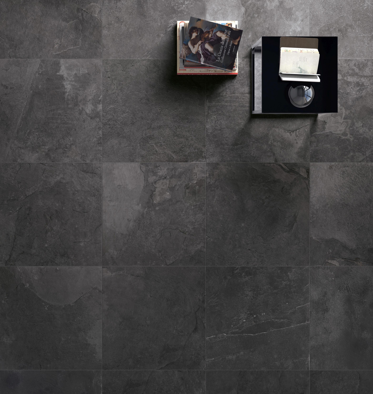 Rivestimenti In Ardesia Nera stonework ardesia nera mosaico   architonic