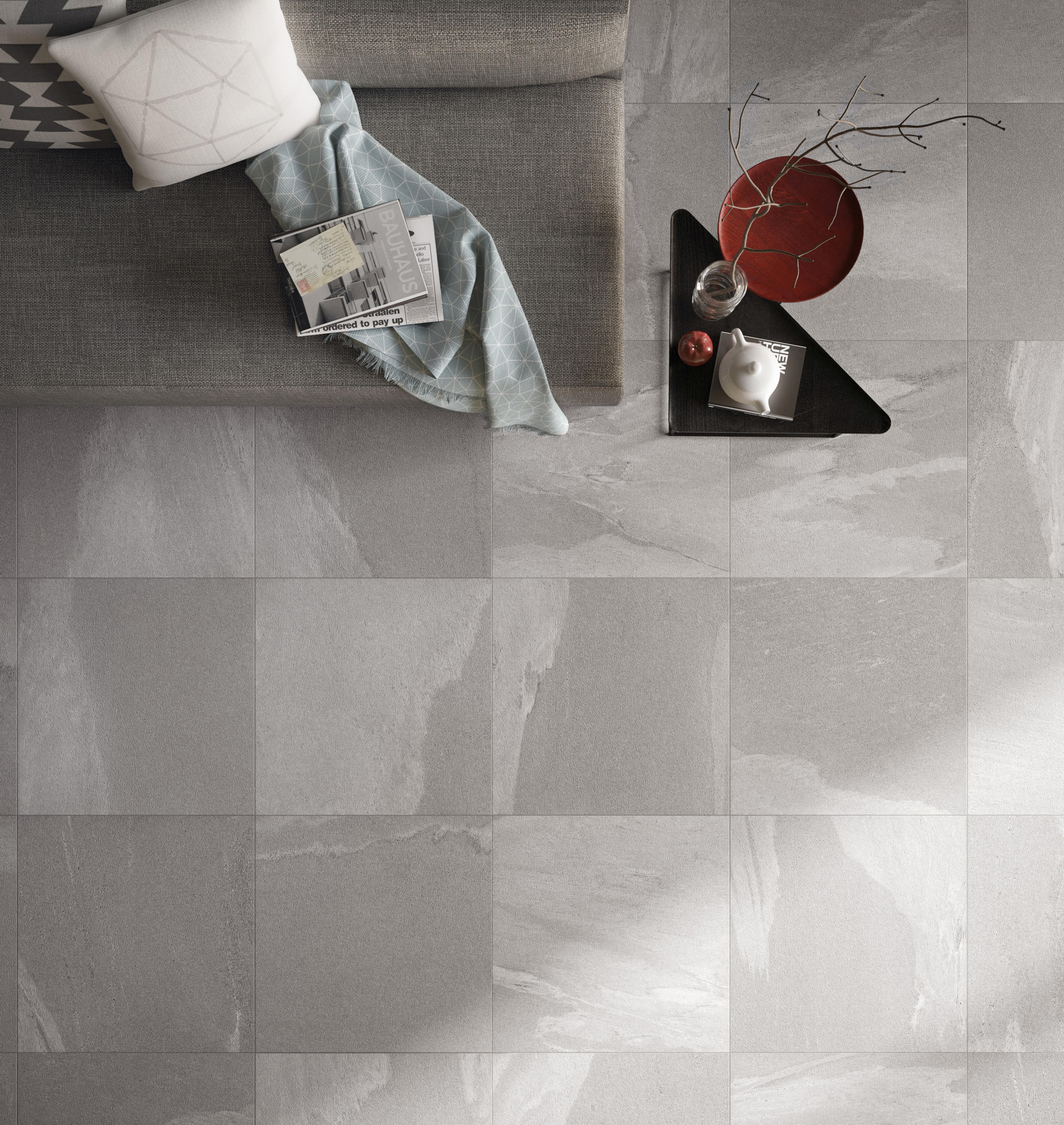 stonework ardesia nera 30x60 floor tiles from ceramiche. Black Bedroom Furniture Sets. Home Design Ideas