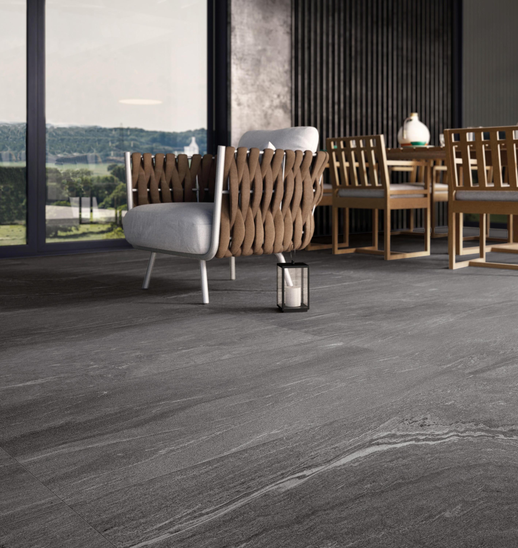 stonework t20 ardesia nera 60x60 panneaux de ceramiche. Black Bedroom Furniture Sets. Home Design Ideas