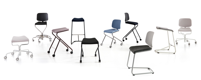 ADD MOVE STOOL 46 Swivel stools from Lammhults Architonic