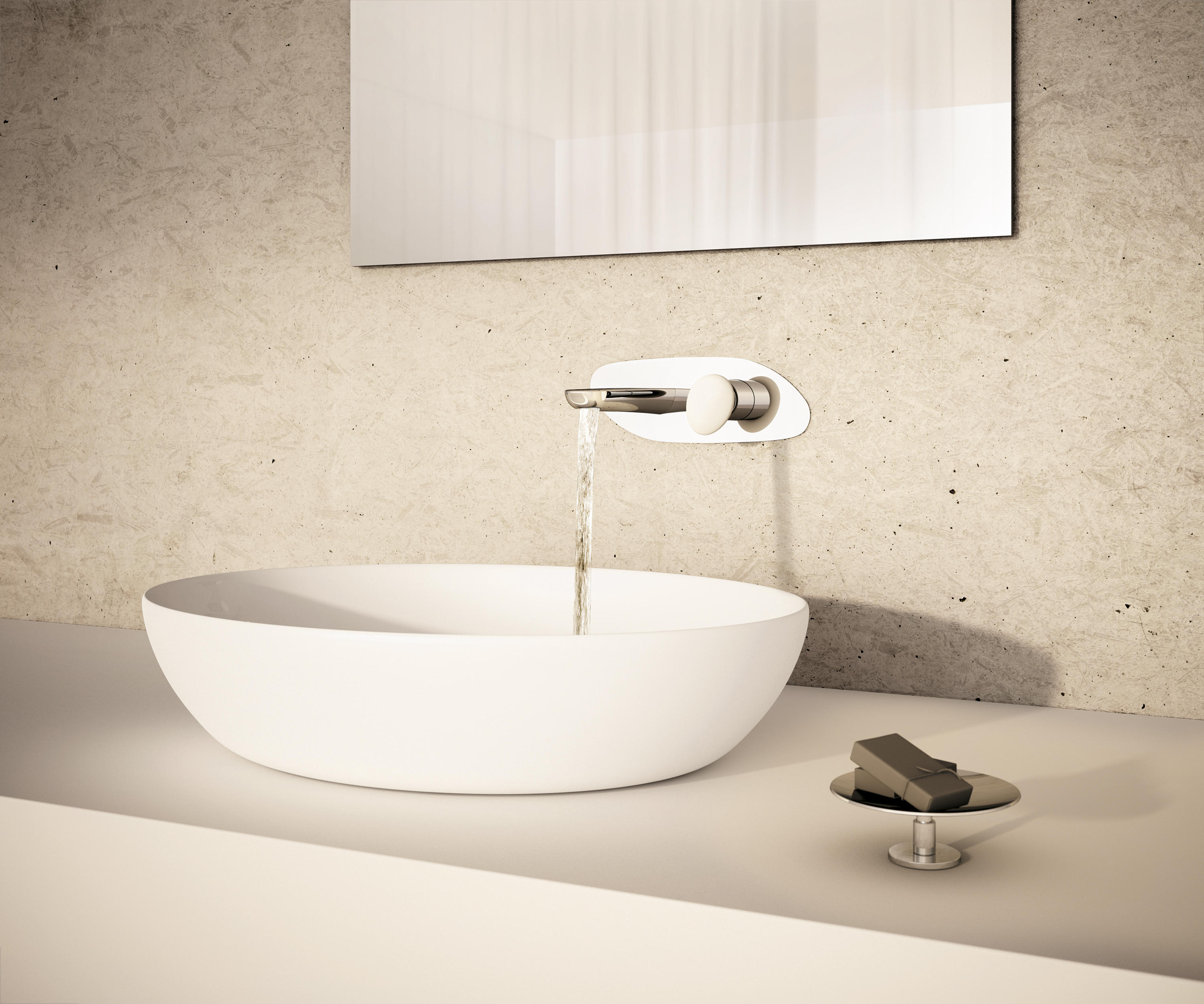SYNERGY STONE 95 - Wash-basin taps from Fir Italia | Architonic
